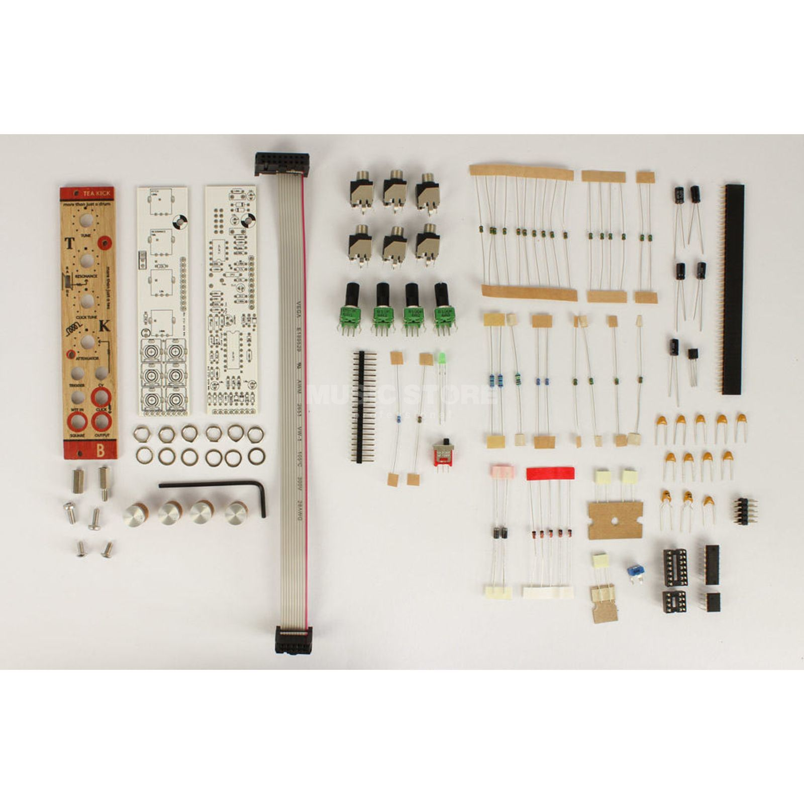 Bastl Instruments Tea Kick DIY KIT DIY kick drum & more Product Image