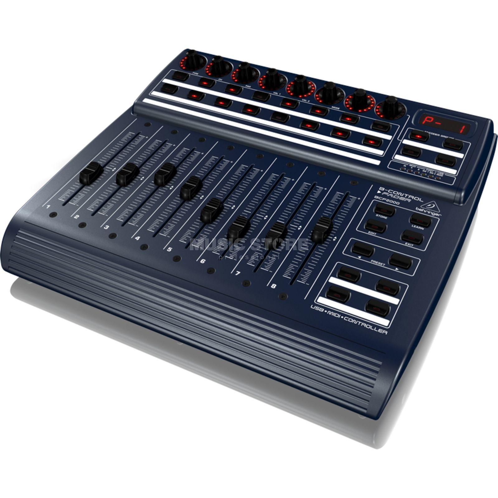 behringer bcf2000 total recall usb midi controller desk. Black Bedroom Furniture Sets. Home Design Ideas