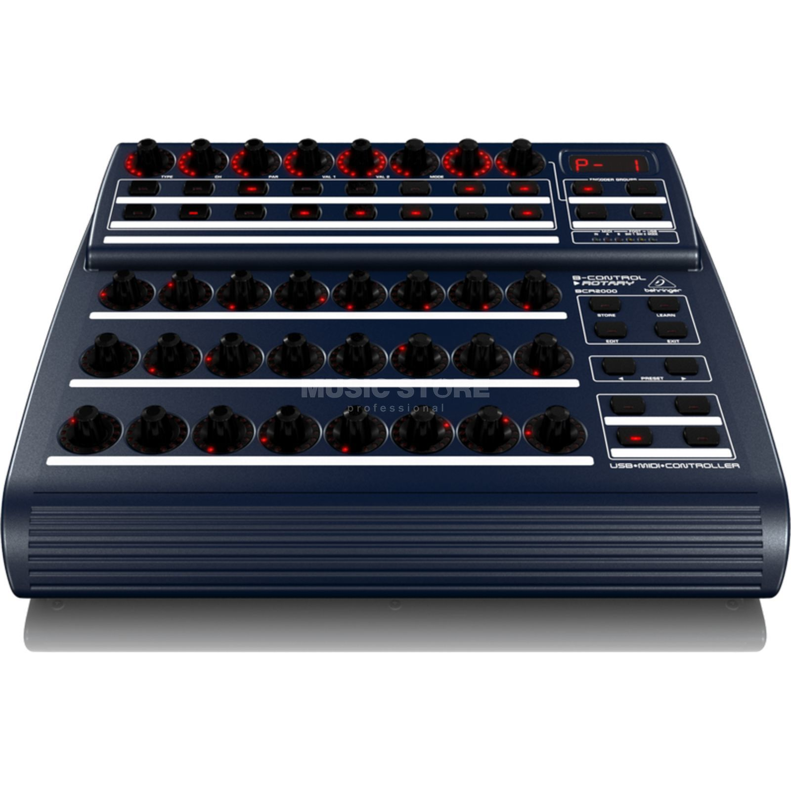 Behringer BCR2000 B-Control Rotary USB MIDI Controller Produktbild