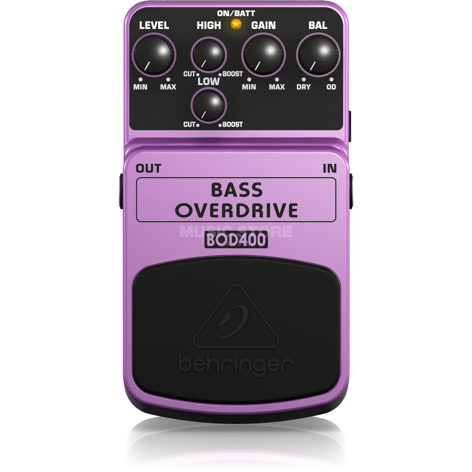 Behringer BOD400 pedaal bas Overdrive Productafbeelding
