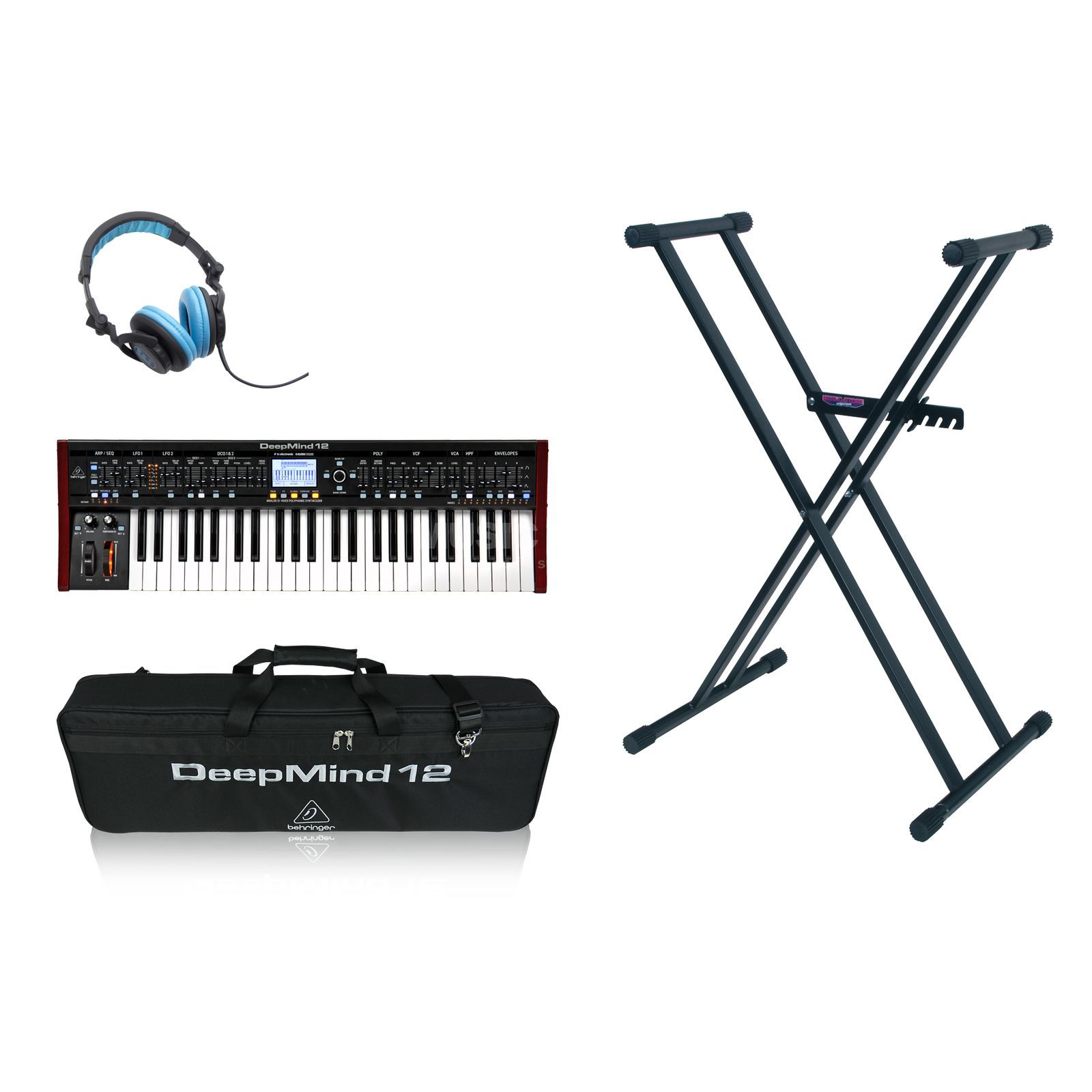 Behringer DeepMind 12 + Bag + Stand -Set Product Image