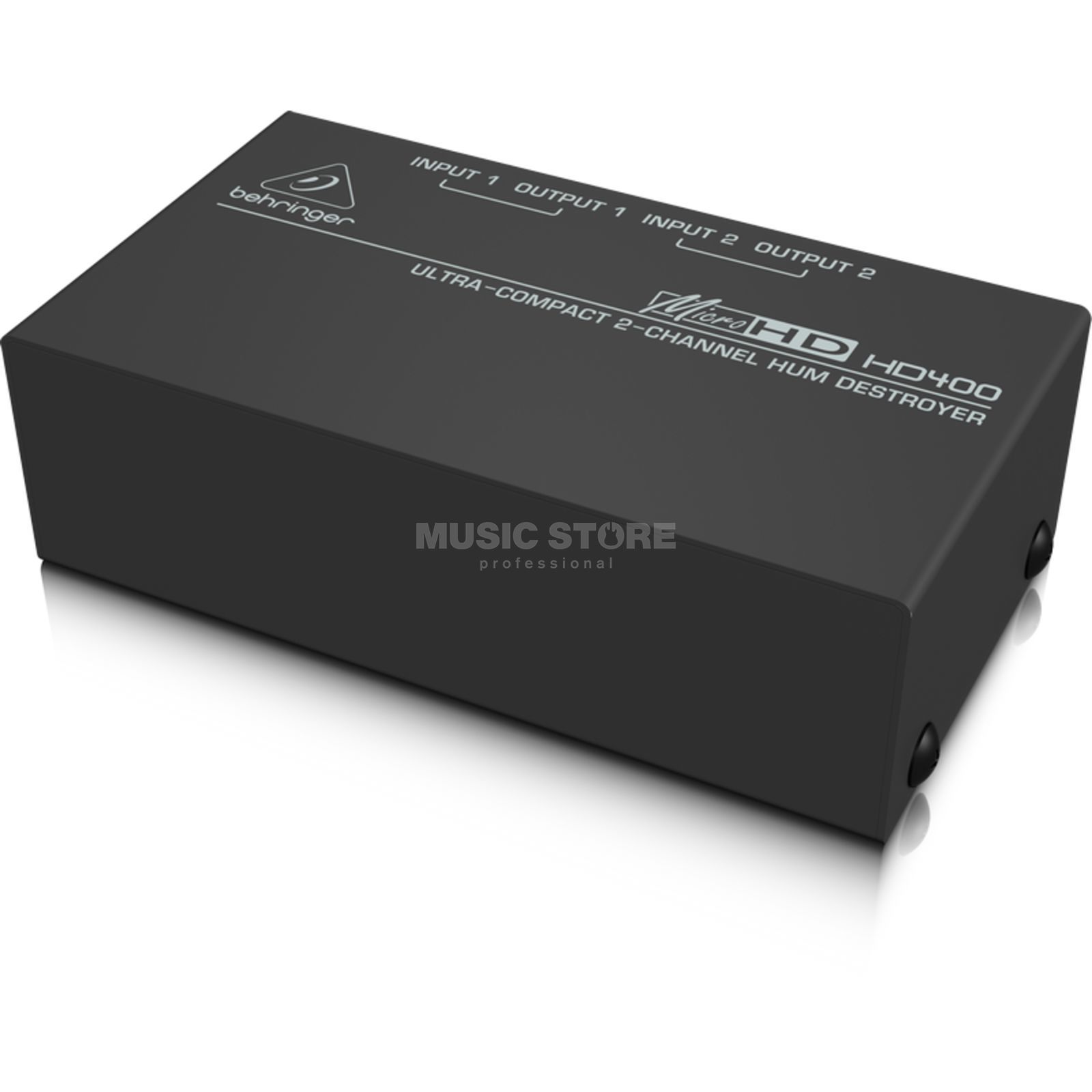 Behringer HD 400 MICROHD 2-Channel Hum Destroyer Produktbillede