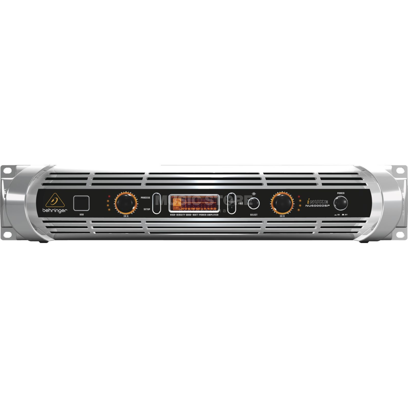 Behringer iNuke NU6000DSP Class-D Amplifier  with DSP Product Image