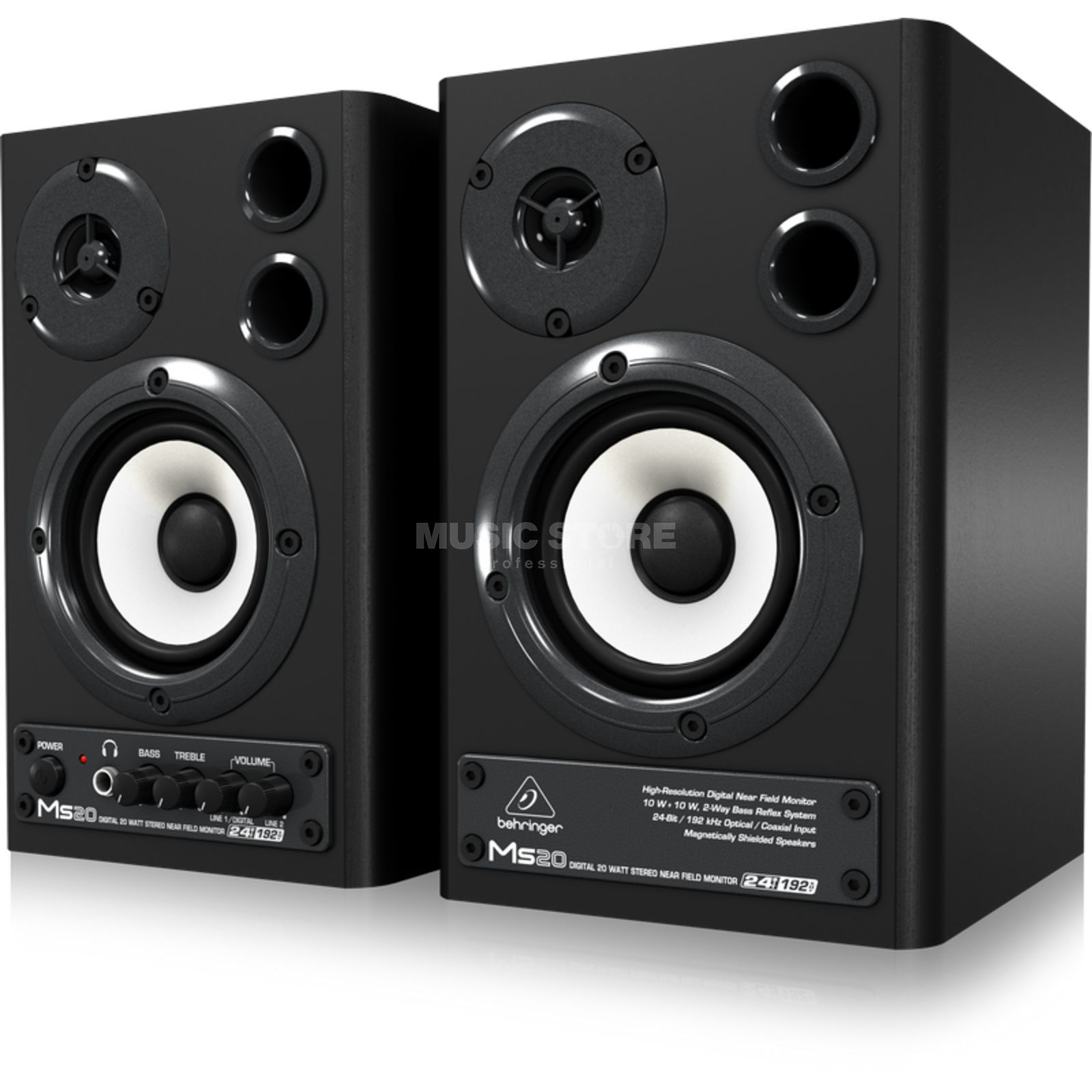 Behringer MS 20 Digital Monitor Speaker  Produktbillede