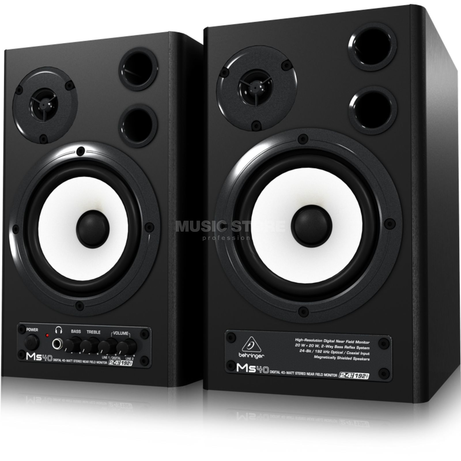 Behringer MS40 Digital Monitor Speaker Produktbild