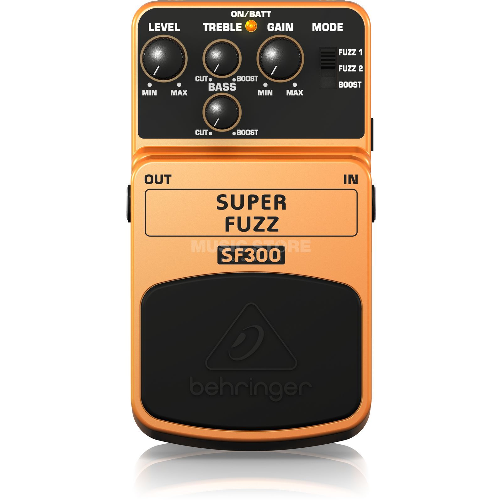 Behringer SF300 Super Fuzz 3 Mode Fuzz Distortion Produktbild