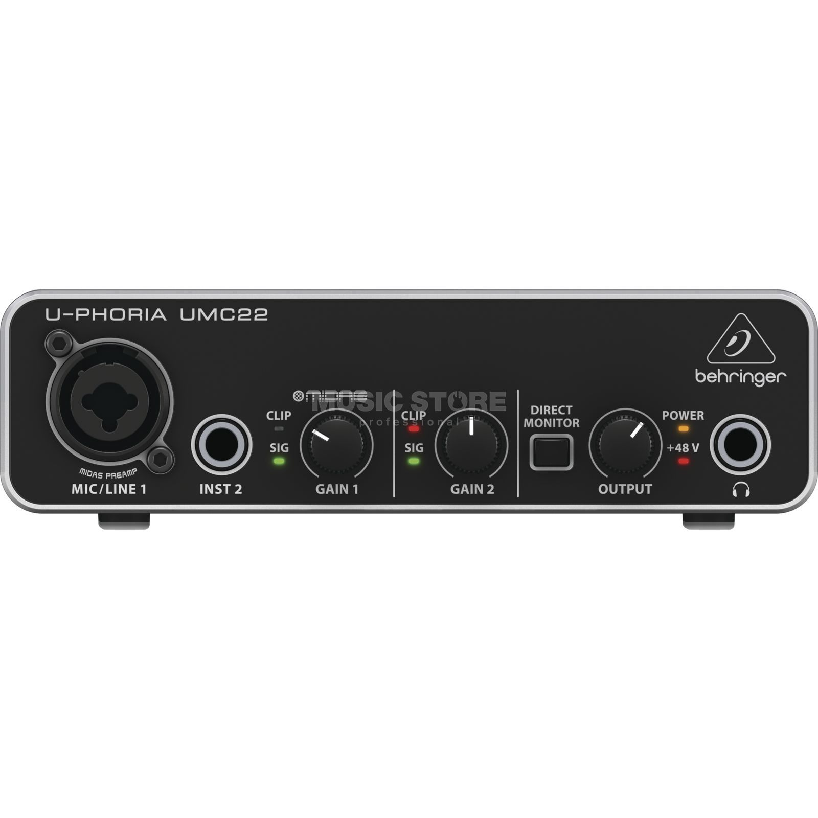 Behringer U-Phoria UMC22 USB Audio Interface Produktbillede