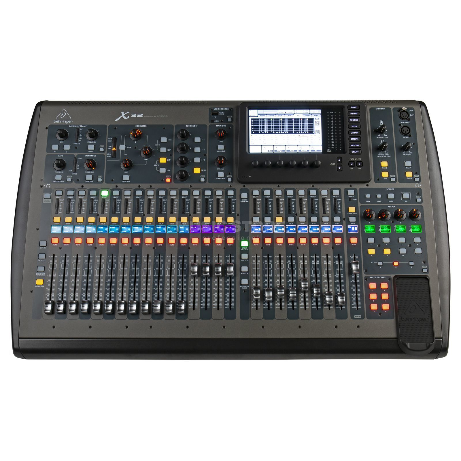 Behringer x32 table de mixage num rique - Table de mixage behringer ...
