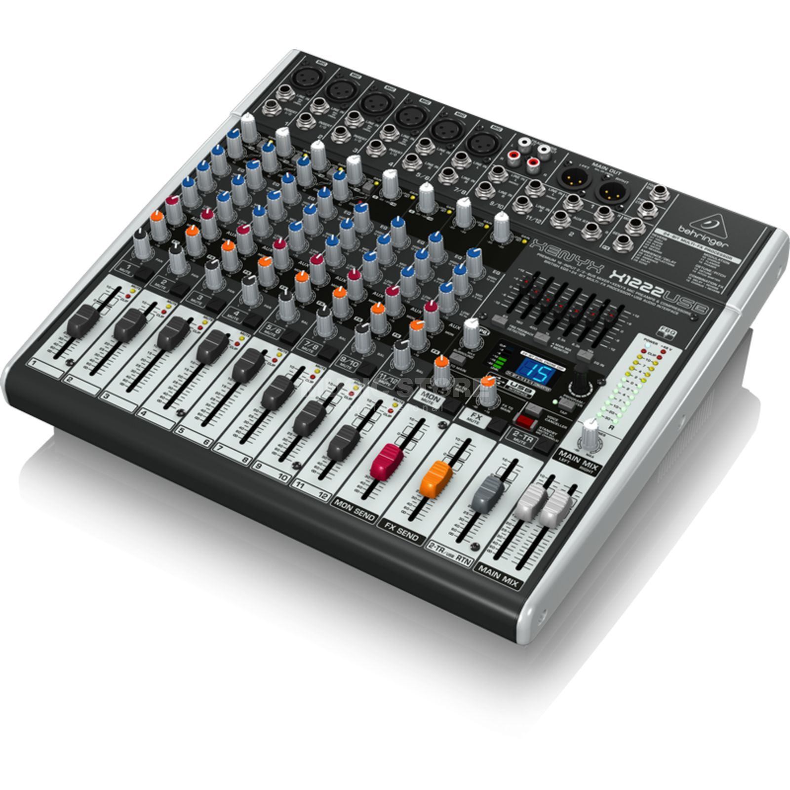 behringer xenyx x1222usb 16 channel mixer with usb audio interface. Black Bedroom Furniture Sets. Home Design Ideas