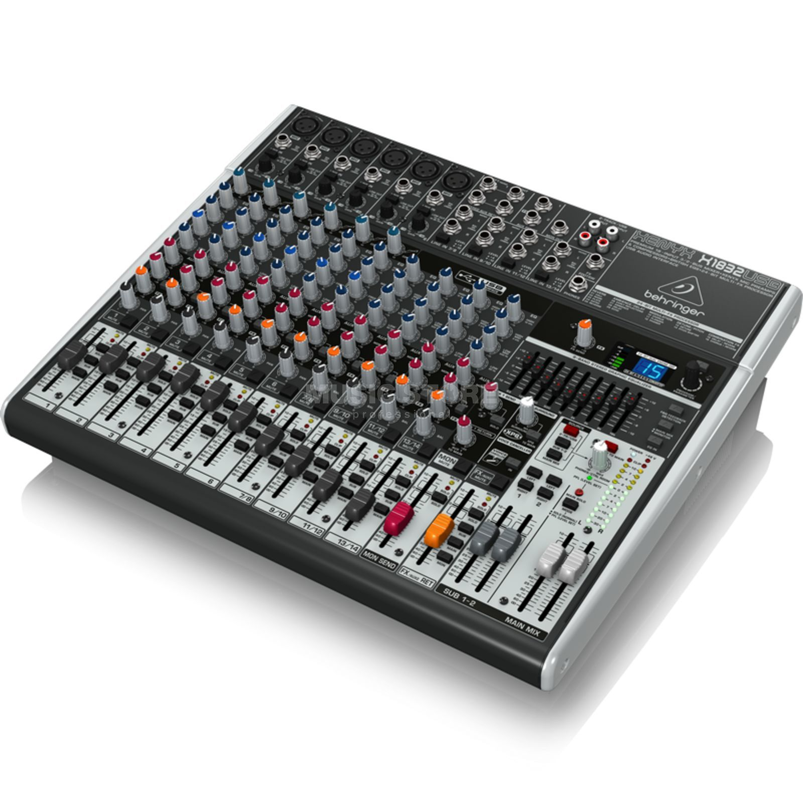 Behringer XENYX X1832USB 18-Channel Mixer with USB Audio Interface Produktbillede