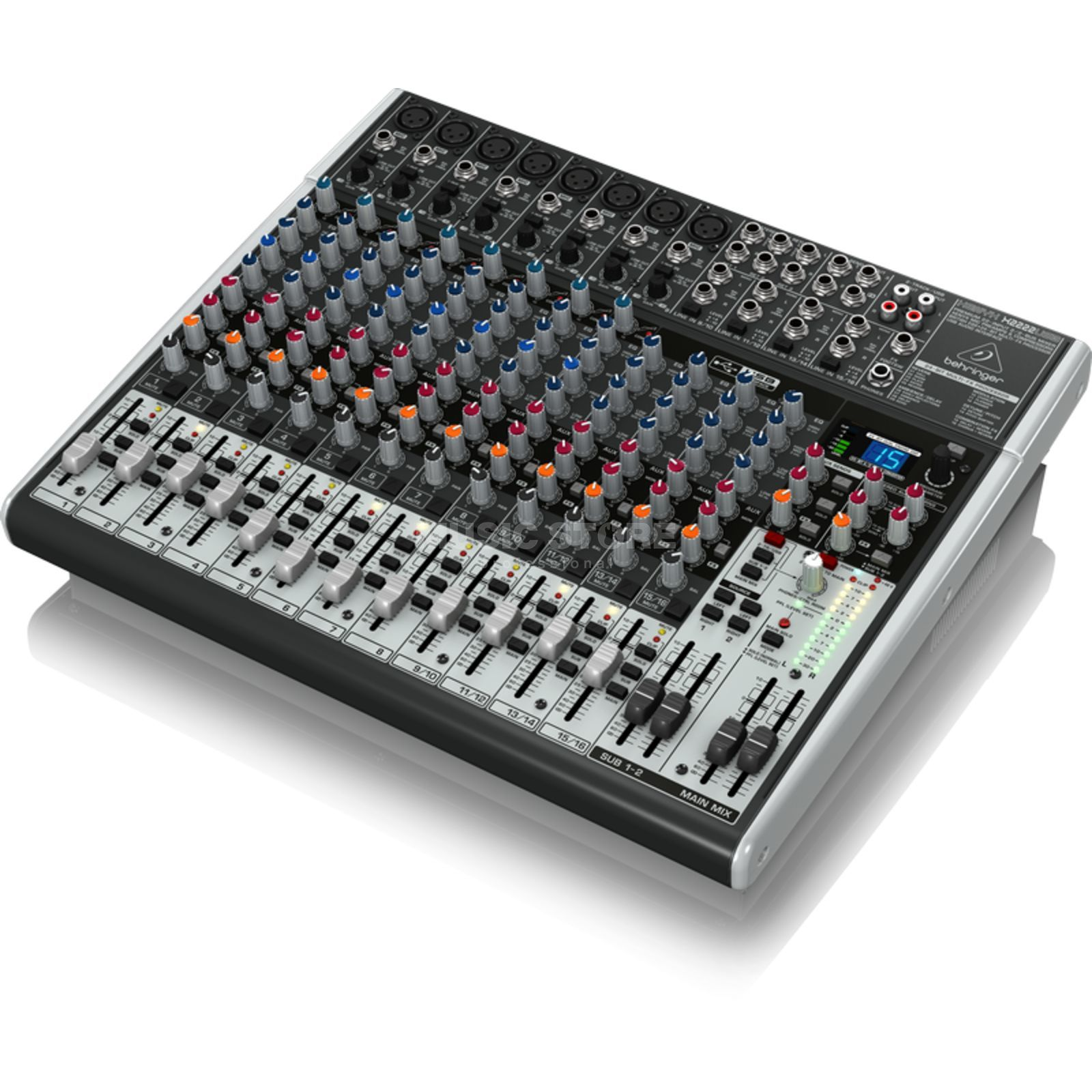Behringer XENYX X2222USB 22-Channel Mixer with USB Audio Interface Produktbillede
