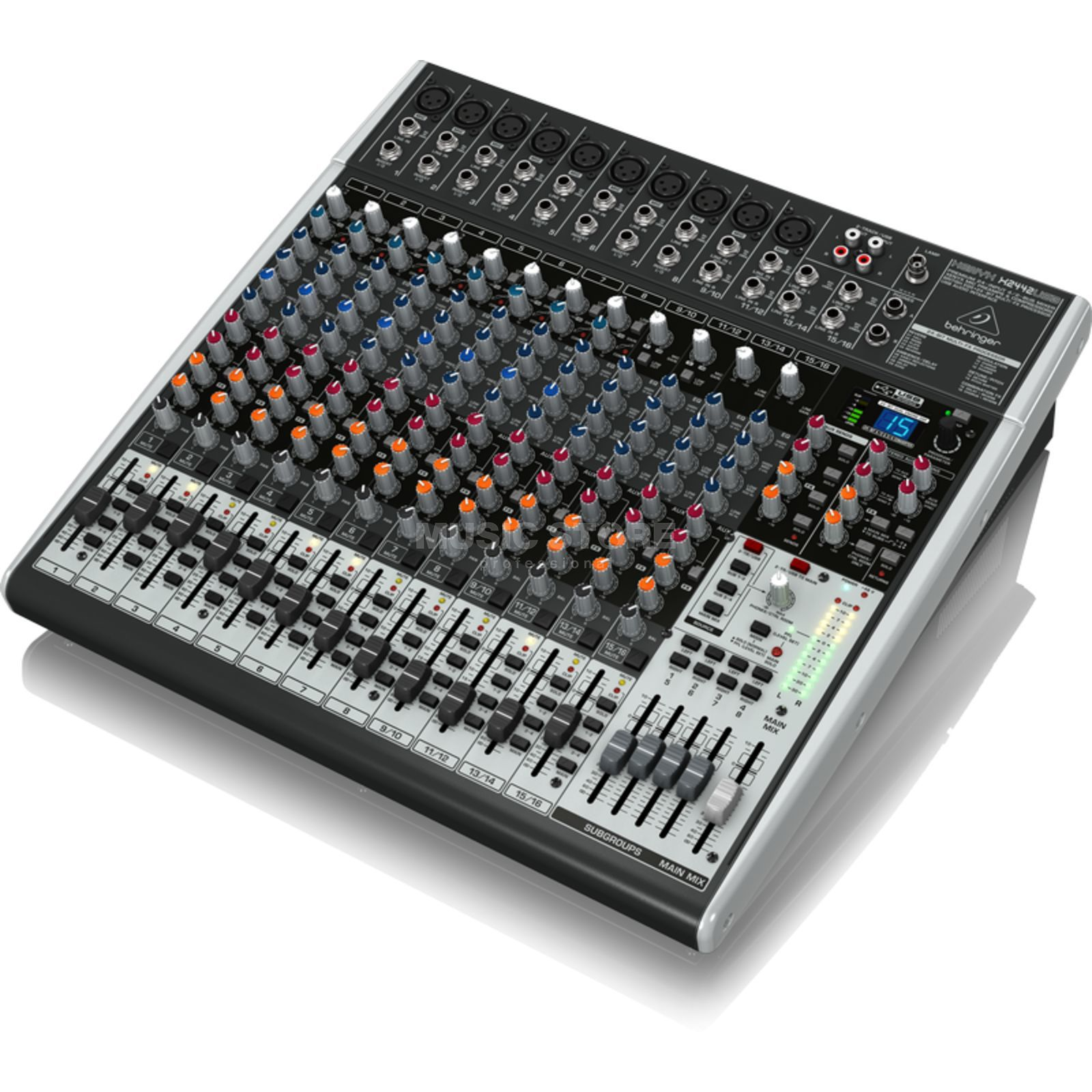 Behringer XENYX X2442USB 24-Channel Mixer with USB Audio Interface Produktbillede