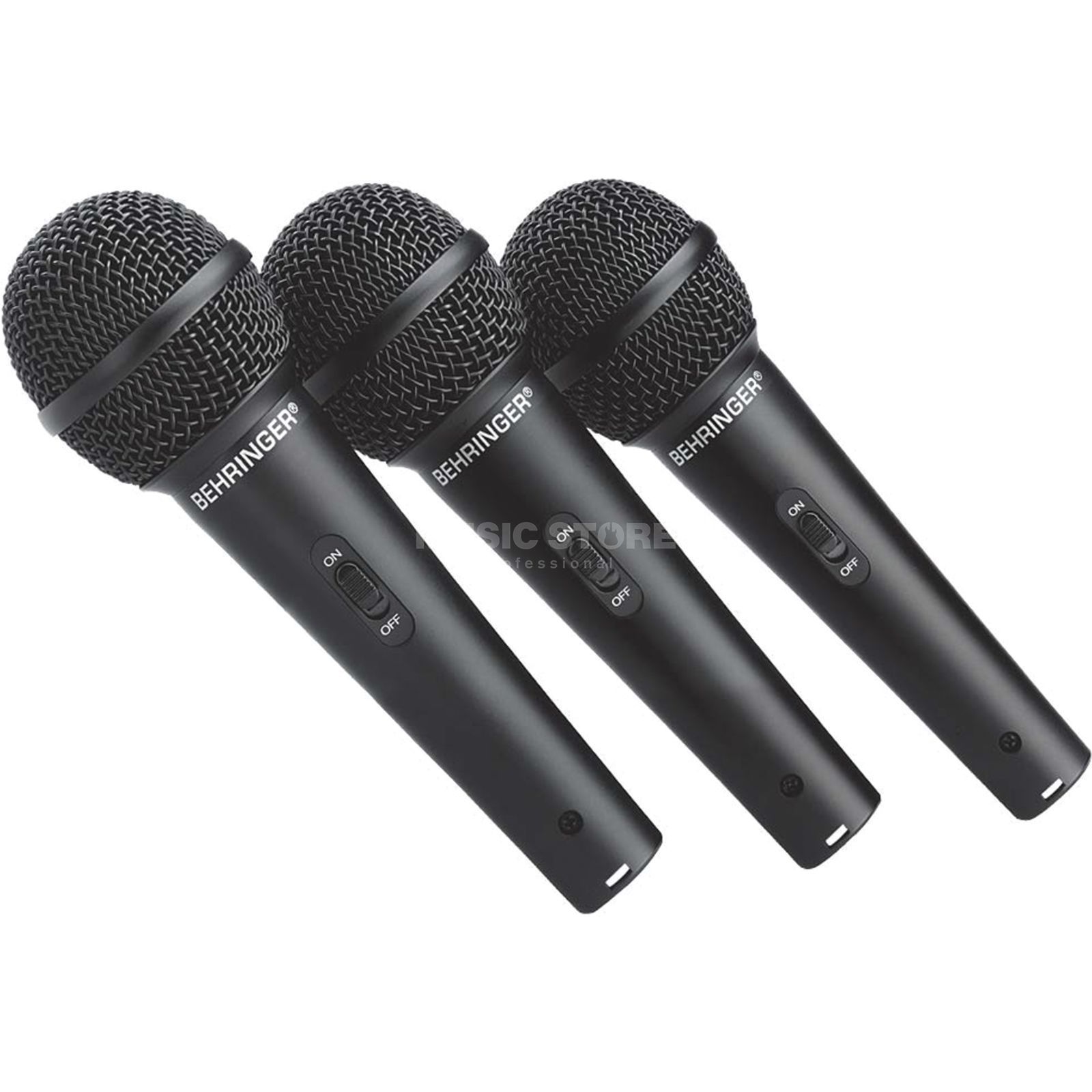Behringer XM 1800S 3-PACK dynamic Microphone Product Image
