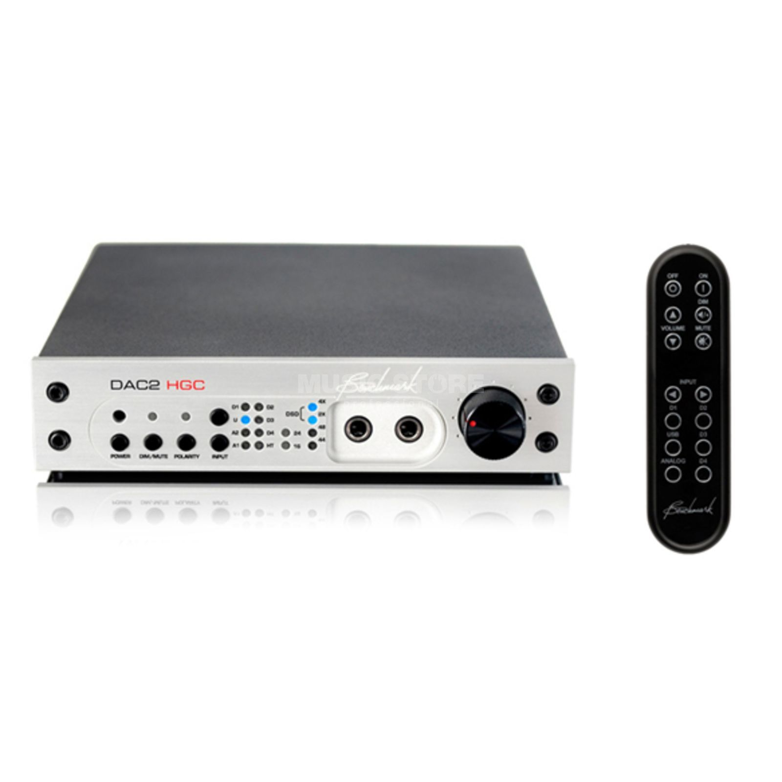 Benchmark Media Systems DAC-2 HGC Silver 32Bit/192kHz D/A with USB Produktbillede