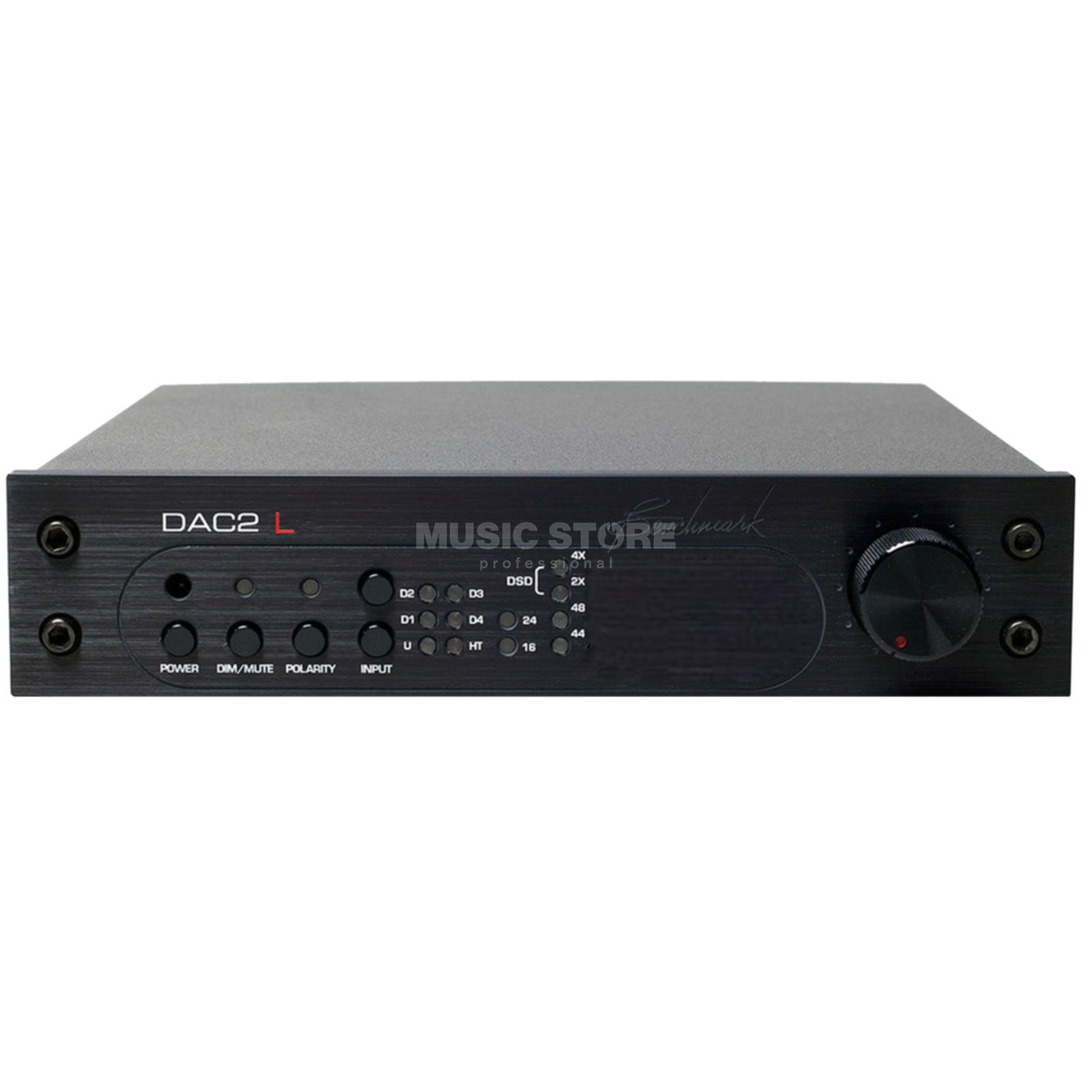 Benchmark Media Systems DAC-2L/B black  Produktbillede