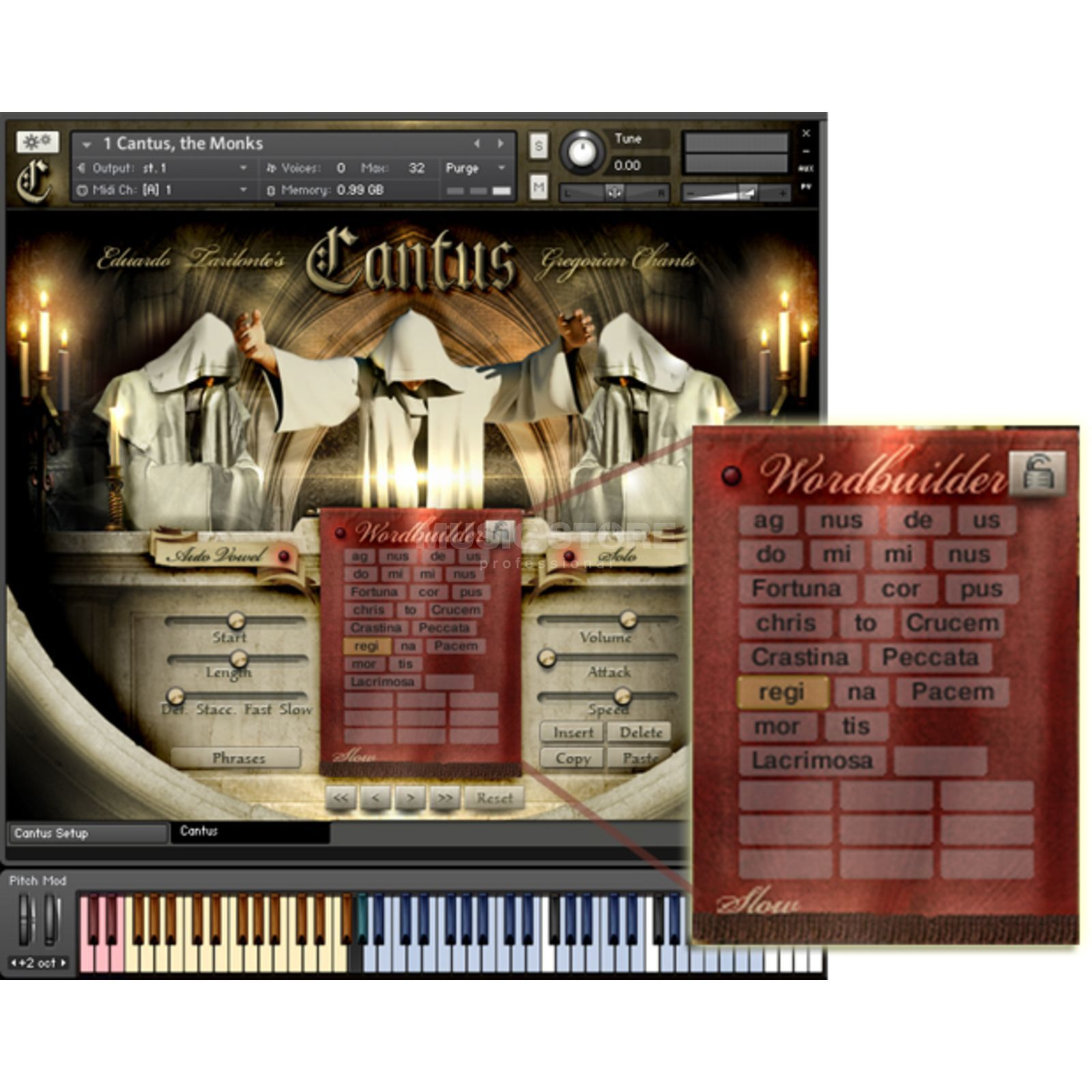 Best Service Cantus - Gregorian Chants Downloadlizenz Produktbild