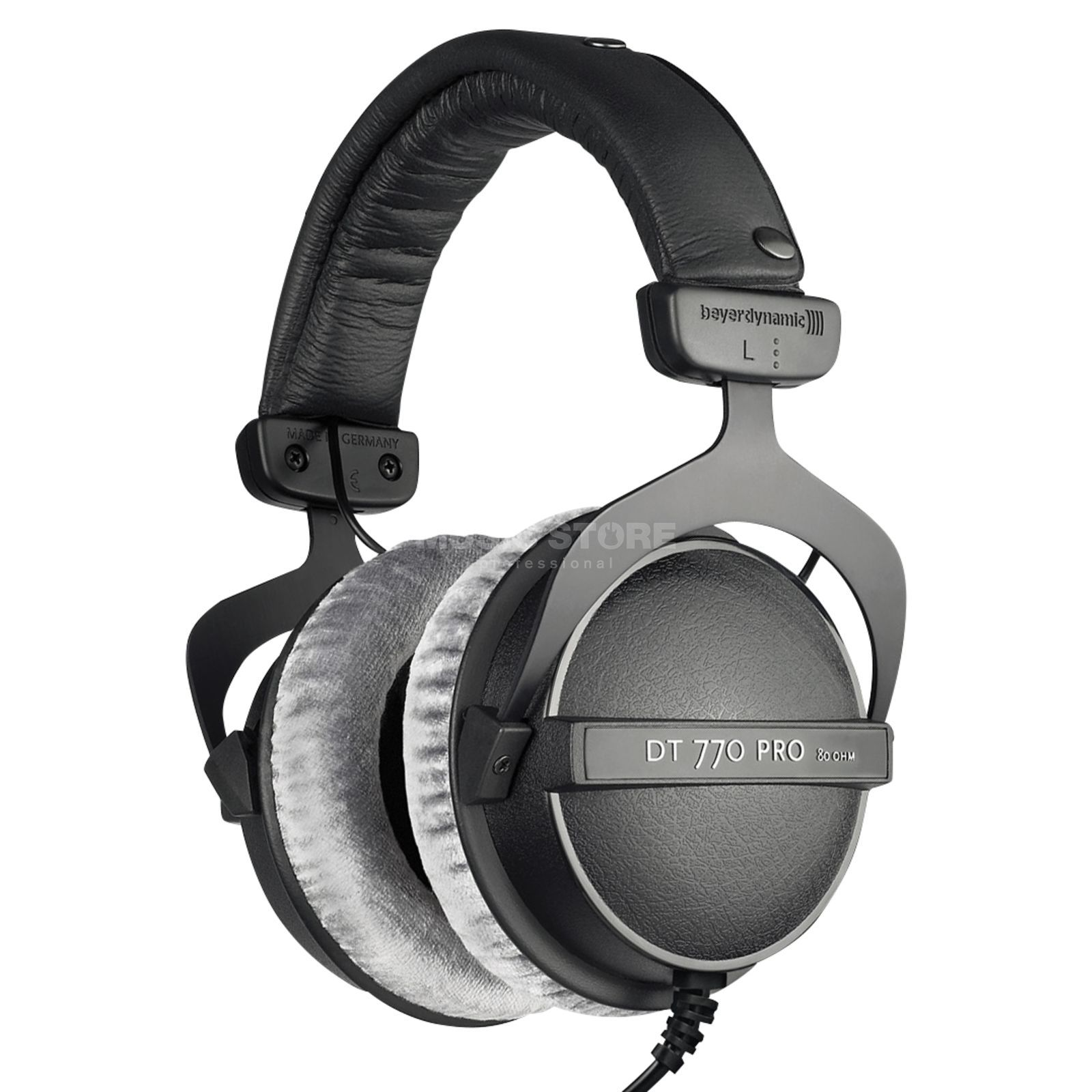 beyerdynamic dt 770 pro 80 ohm closed studio headphones. Black Bedroom Furniture Sets. Home Design Ideas