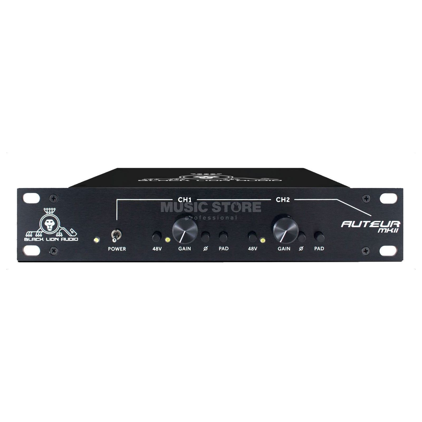 Black Lion Audio Auteur MKII Mic Pre 2-Channel Preamp Produktbild