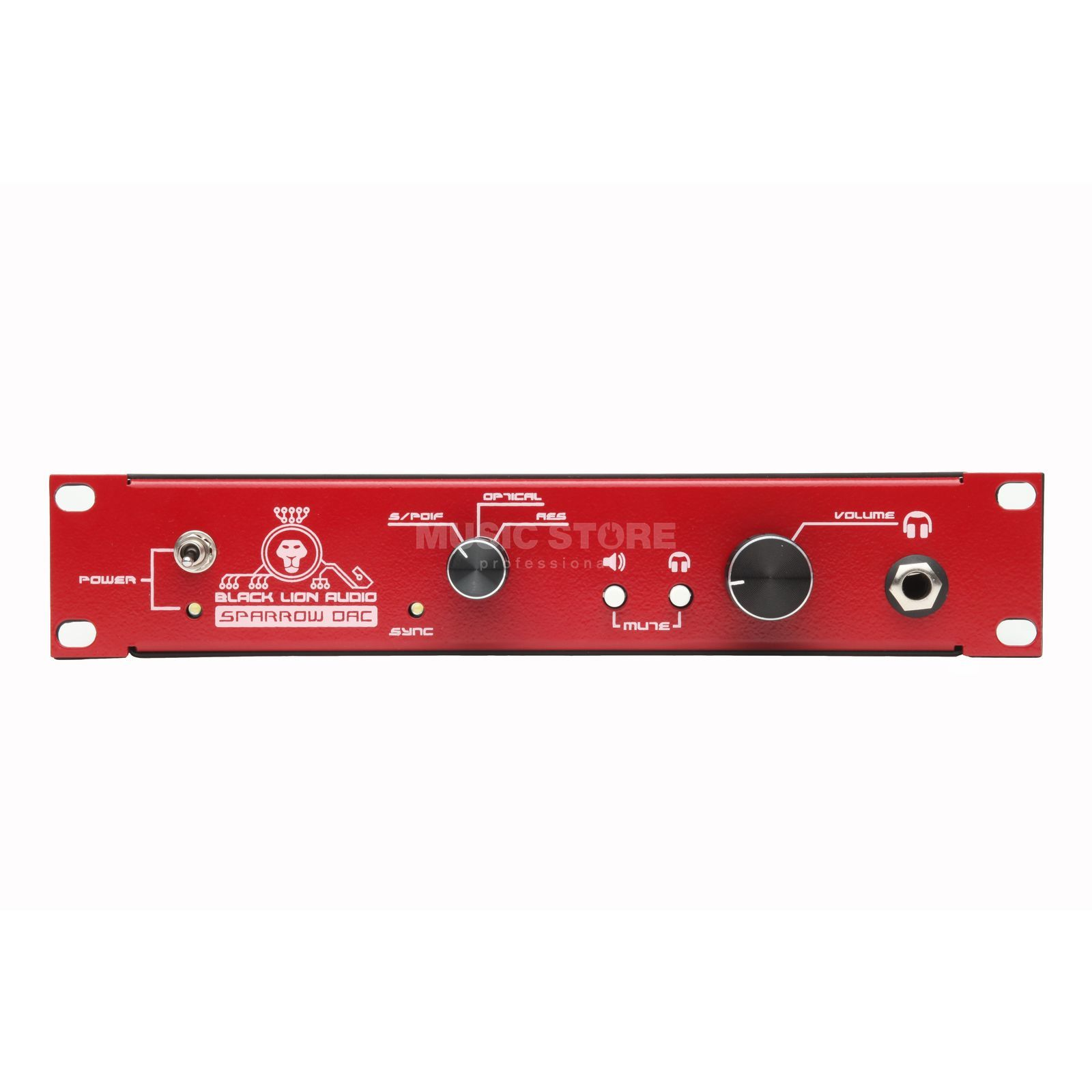 Black Lion Audio Sparrow DAC - Red 2-Kanal D/A Wandler Produktbild