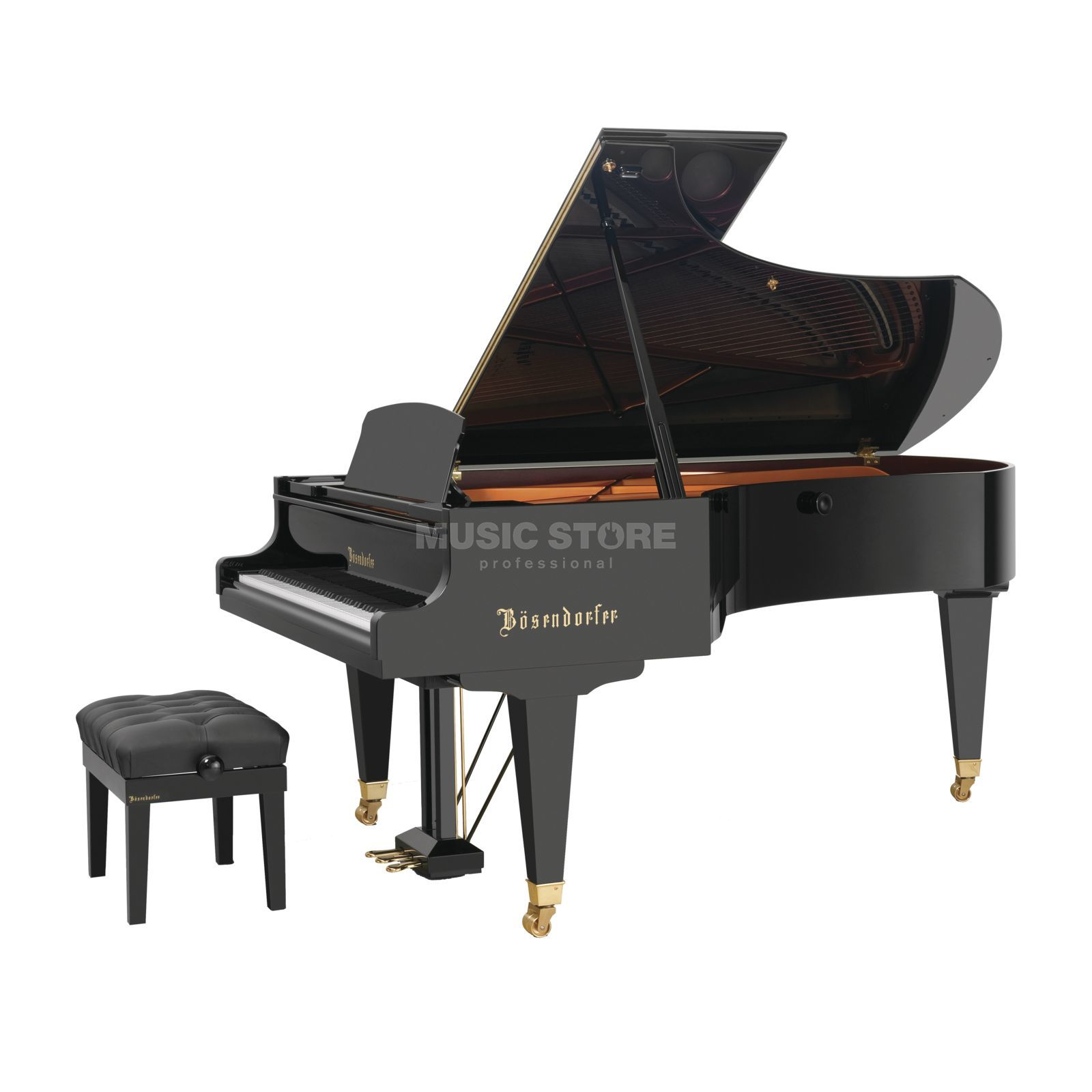 Bösendorfer 225 Grand Piano, Black polished Produktbillede