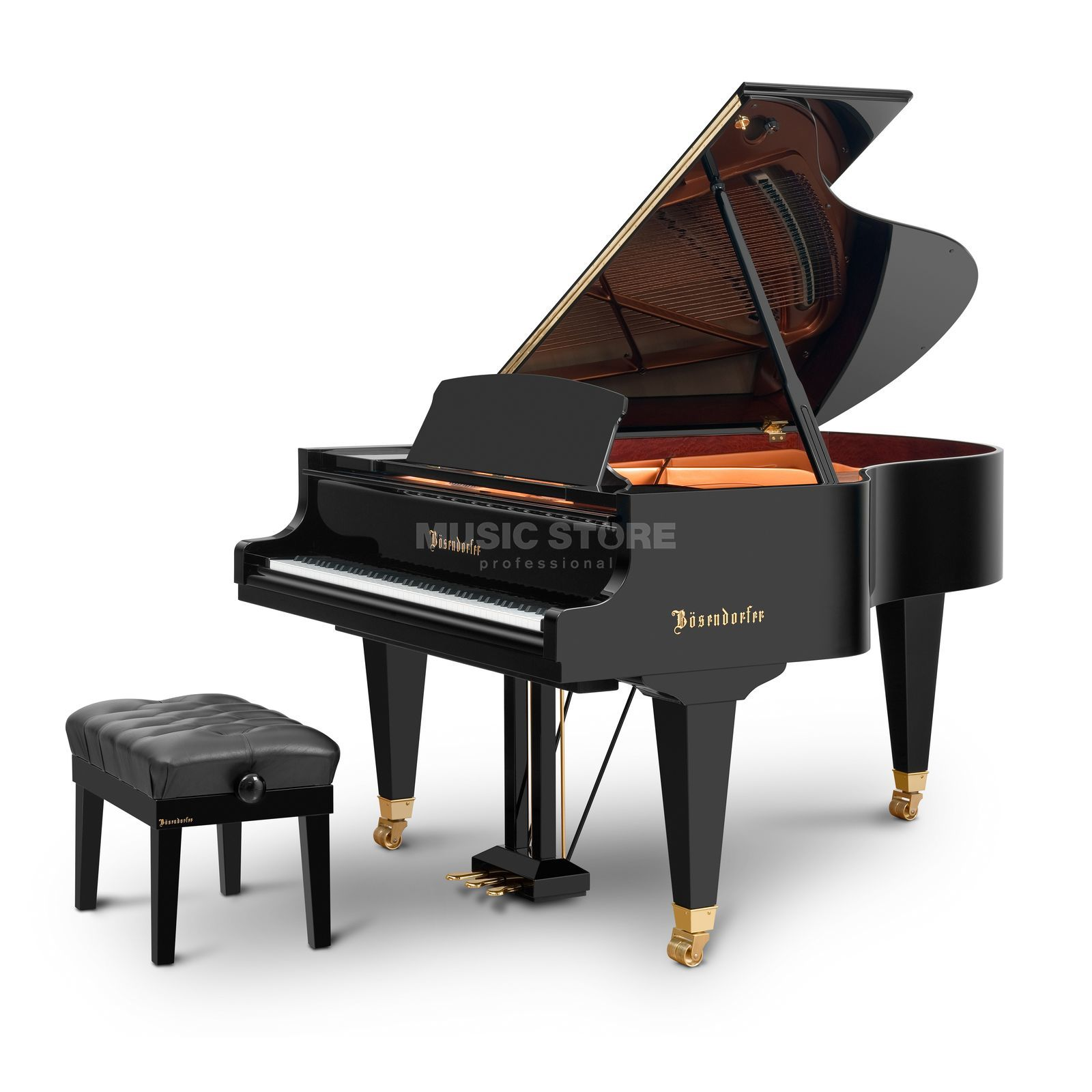 Bösendorfer Grand Model 185 Black polished Produktbillede