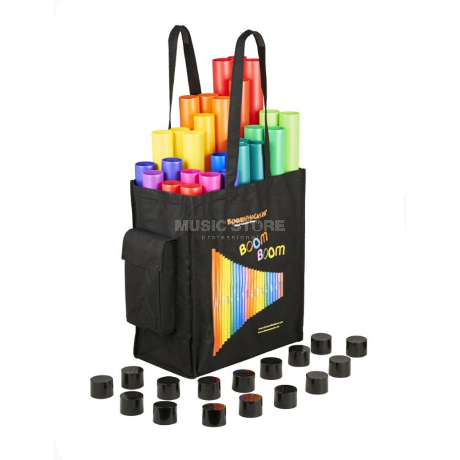 Boomwhackers Basic School Set SET04 incl. Tasche Productafbeelding