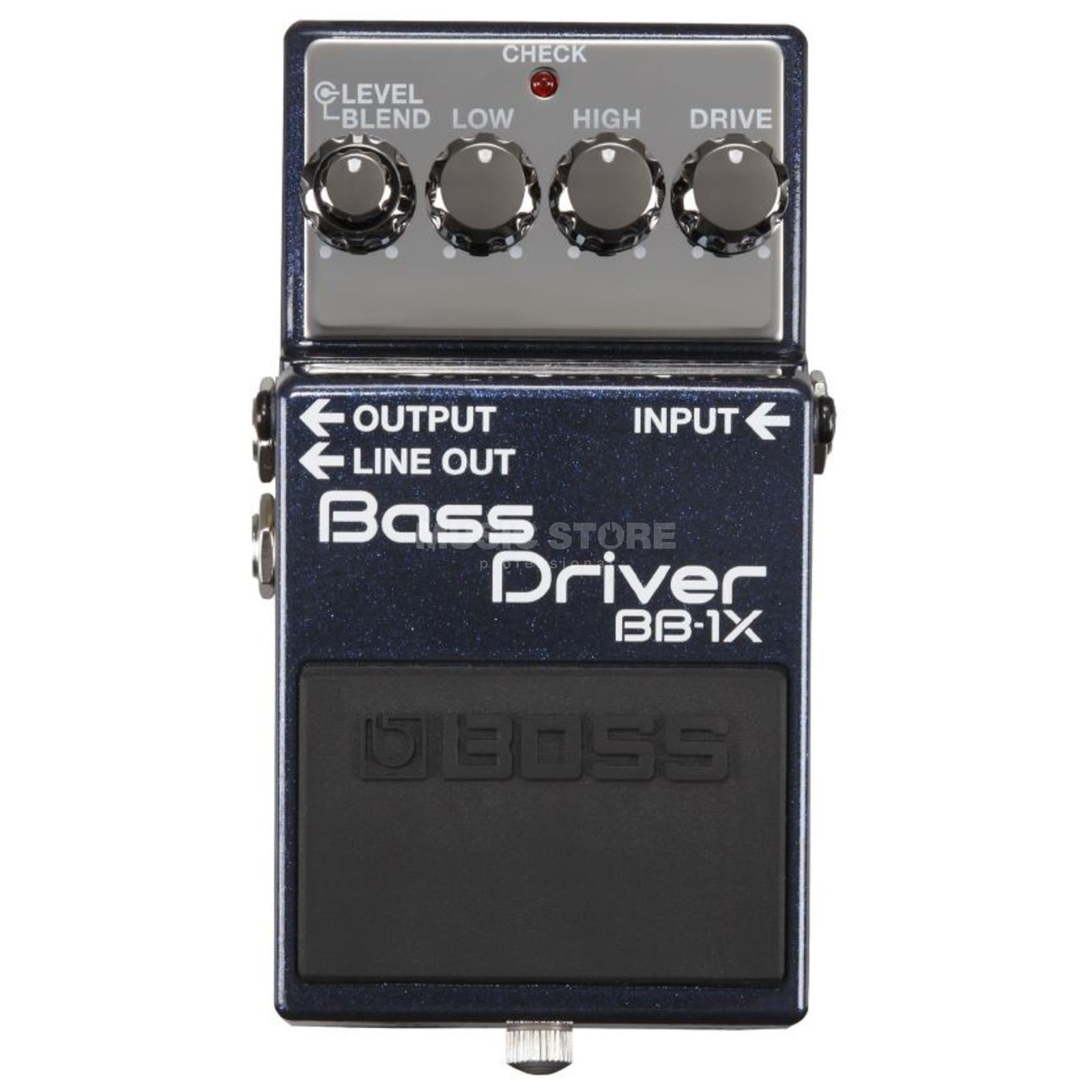 Boss BB-1X pedaal Pre-Amp, Overdrive, Equalizer Productafbeelding