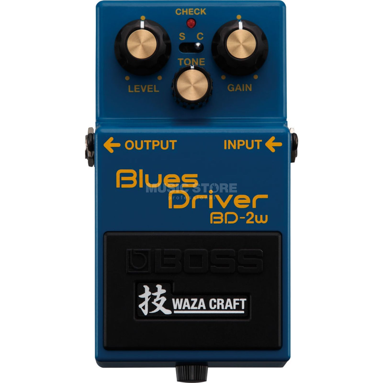 Boss BD-2w Blues Driver Waza Craft Special Edition Produktbillede