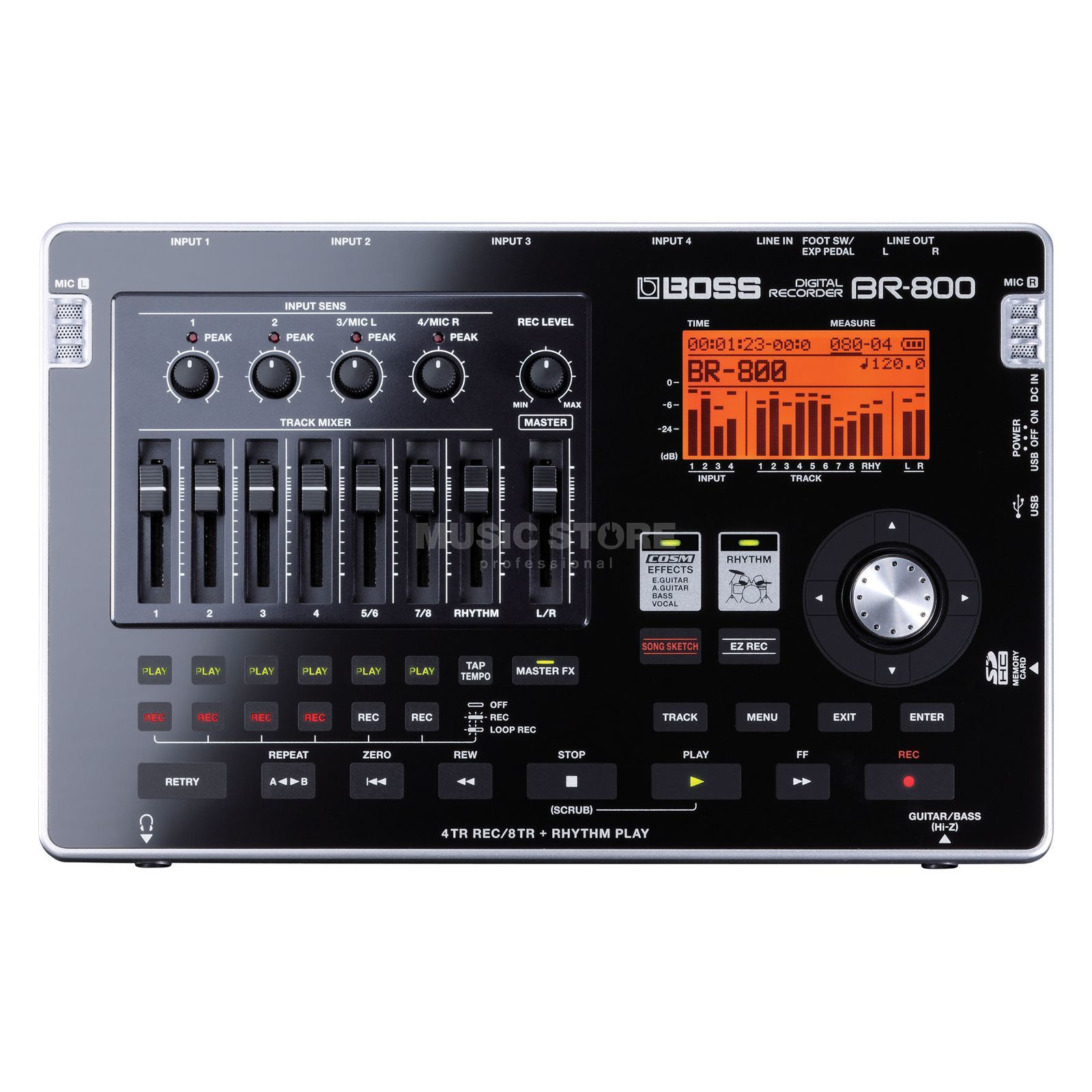 Boss BR-800 Multitrack Digital Recording Studio Product Image
