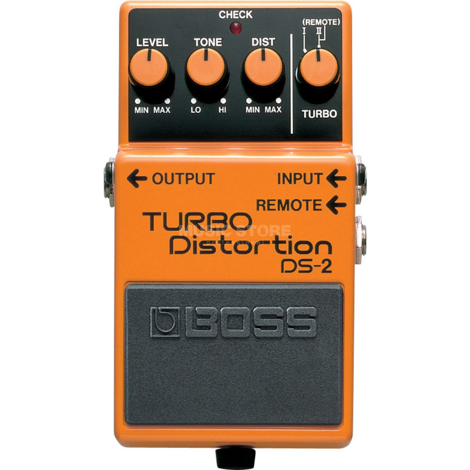 Boss DS-2 Turbo Distortion Pedal    Produktbillede