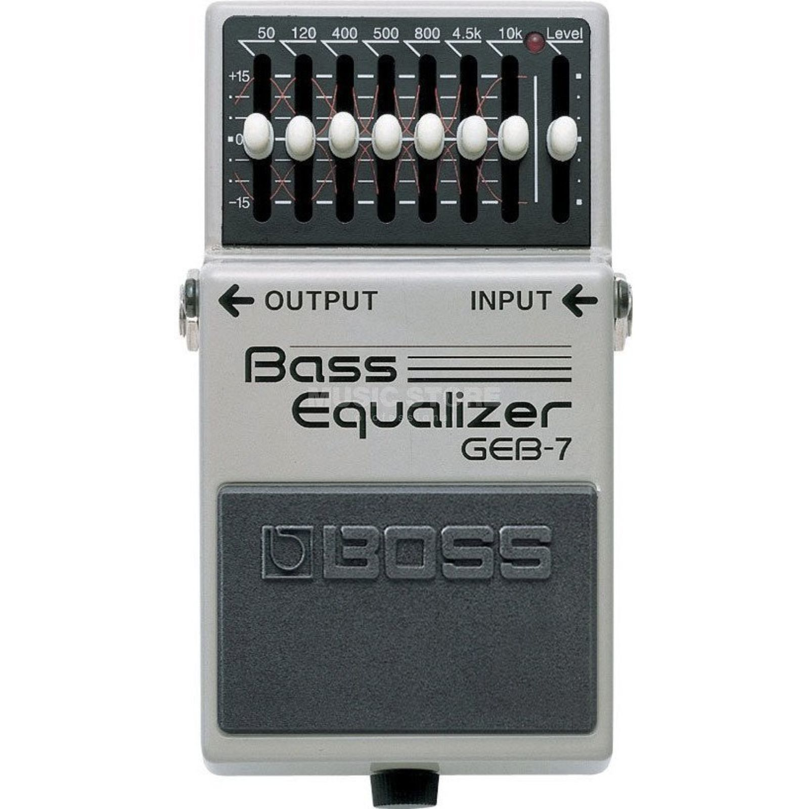 Boss GEB-7 Bass Graphic EQ Pedal  Imagen del producto