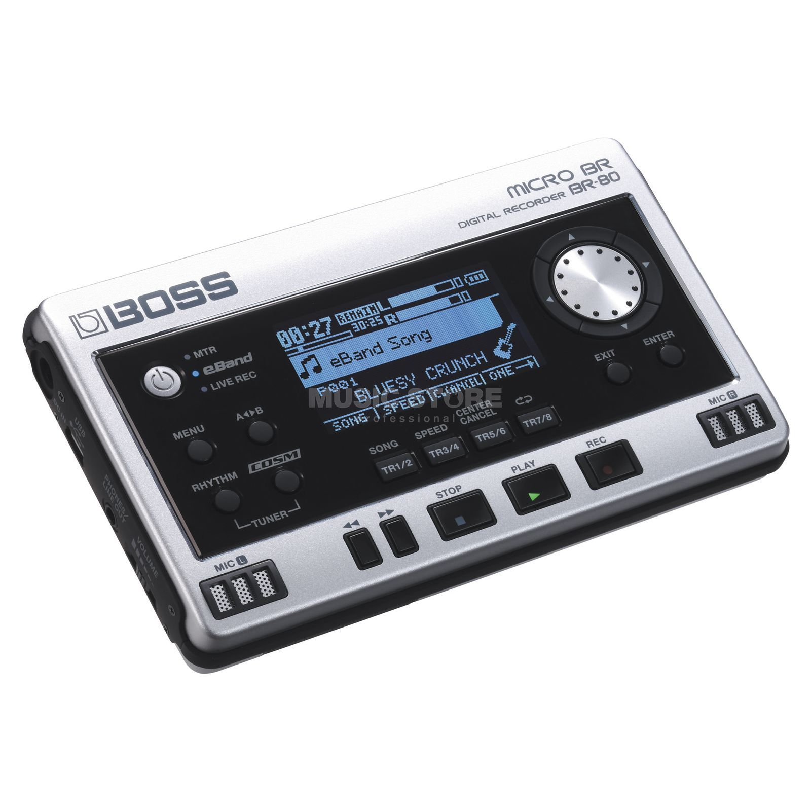 Boss Micro BR-80 Portable Digital Recorder Produktbillede