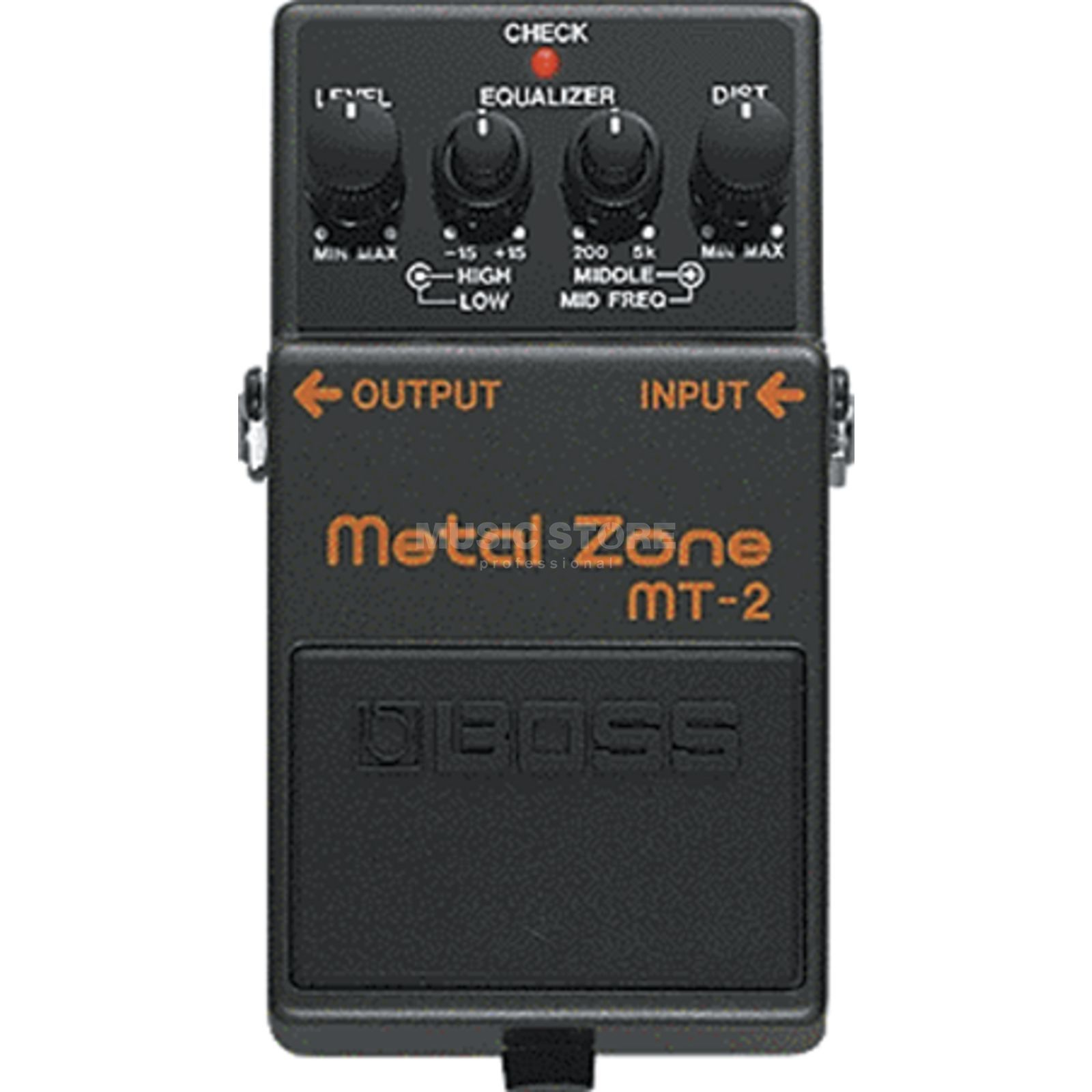 Boss MT-2 Metal Zone Pedal    Produktbillede