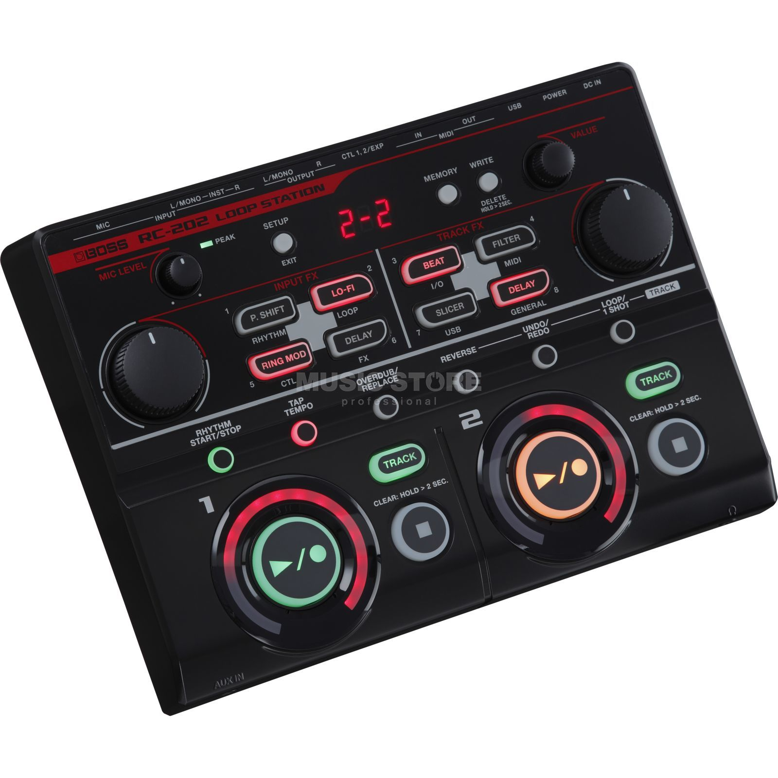 Boss RC-202 Desktop Loop Station Produktbild