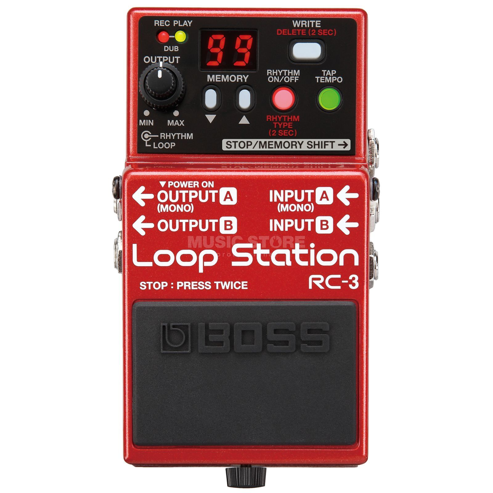 Boss RC-3 Loop Station Pedal    Produktbillede