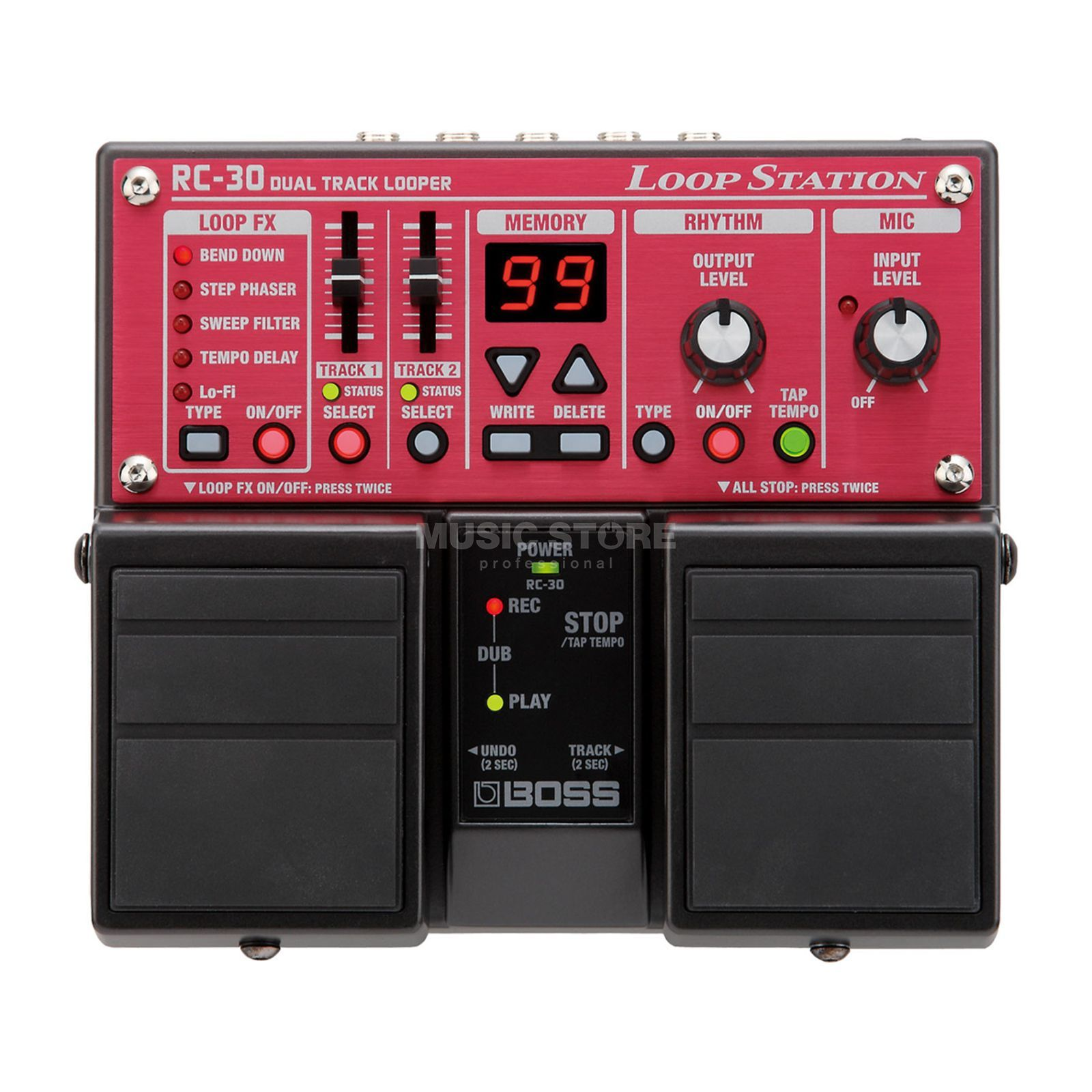 Boss RC-30 Loop Station Pedal    Produktbillede