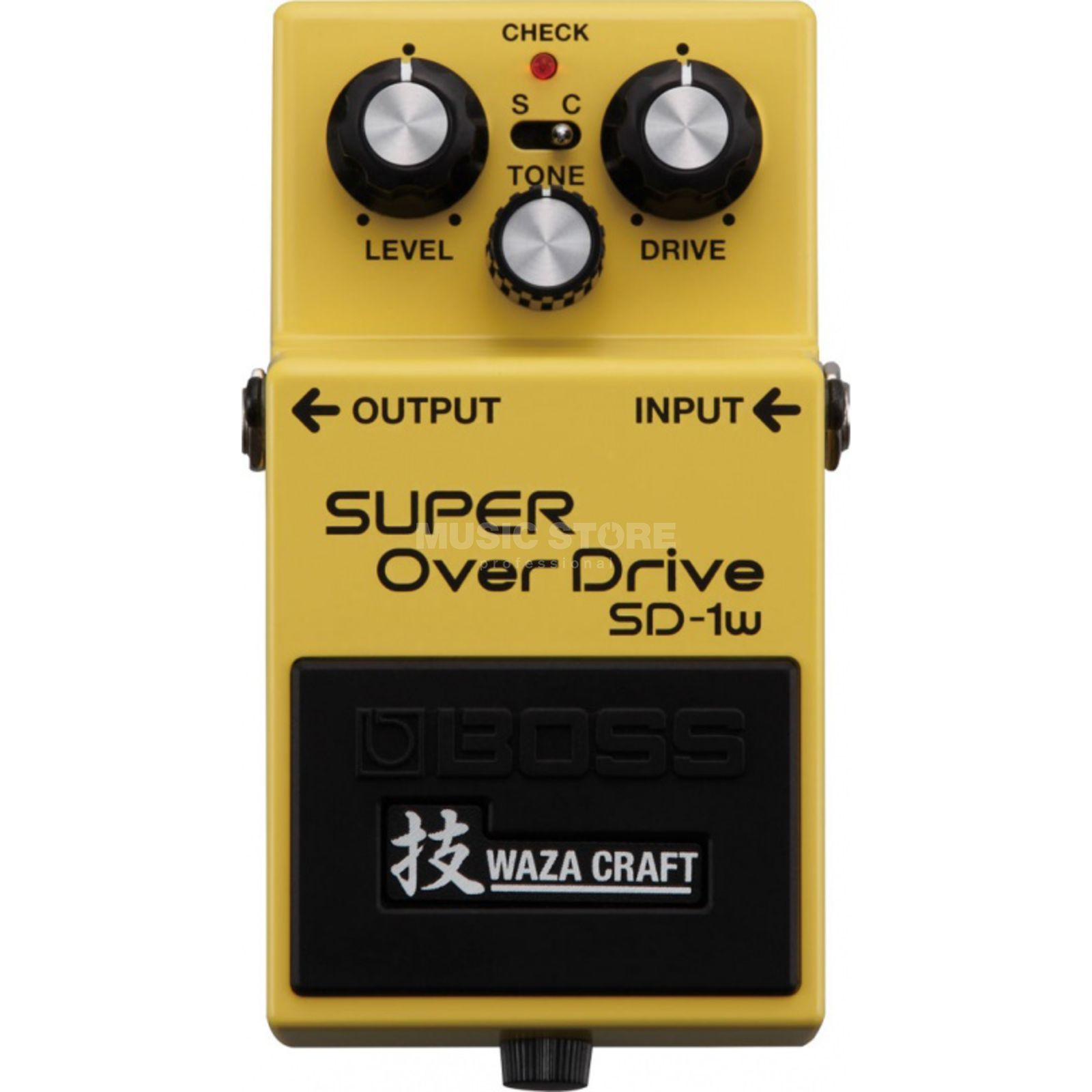 Boss SD-1w SuperOverdrive Waza Craft Special Edition Produktbillede