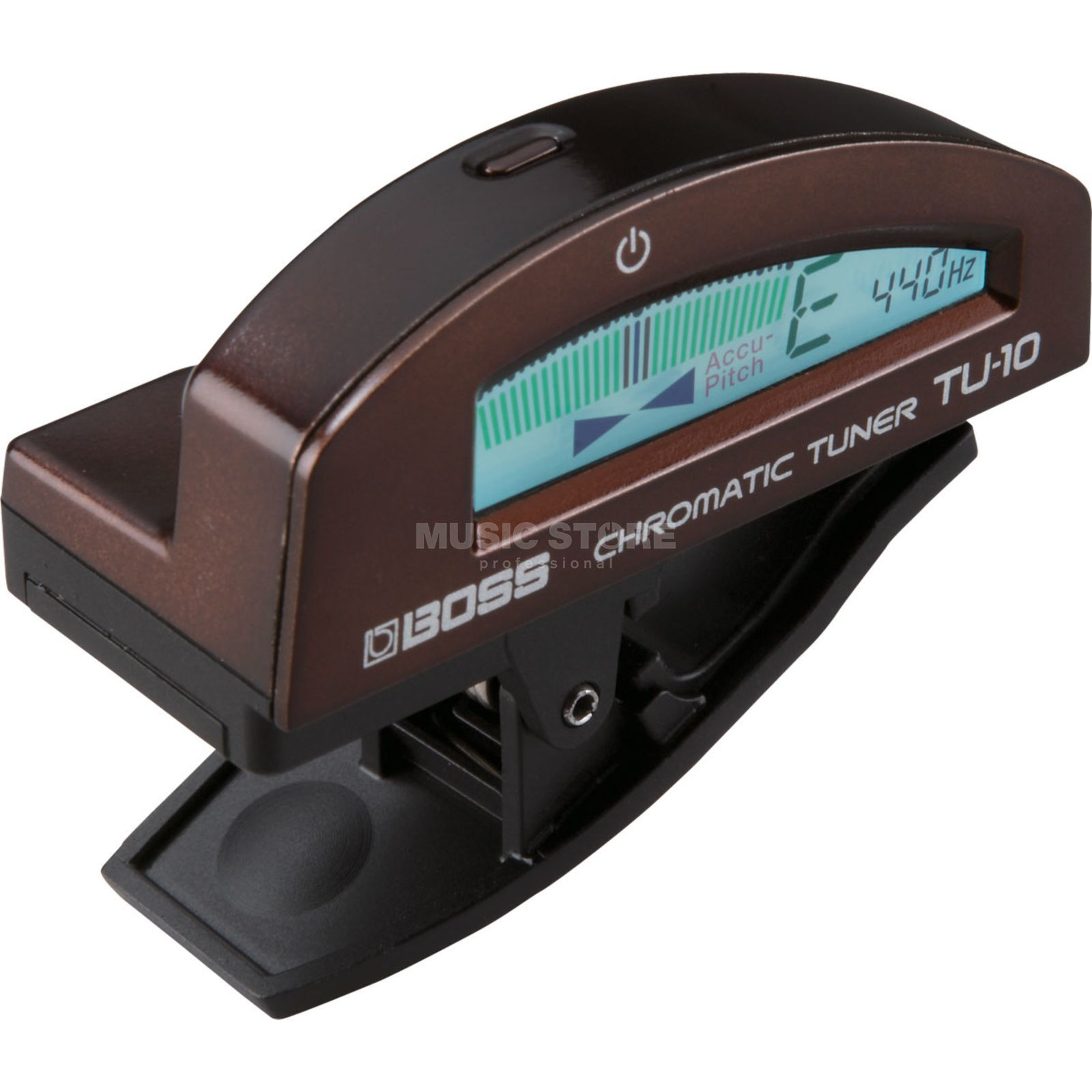Boss TU-10-MBR Clip-on Tuner Metallic Brown Produktbild