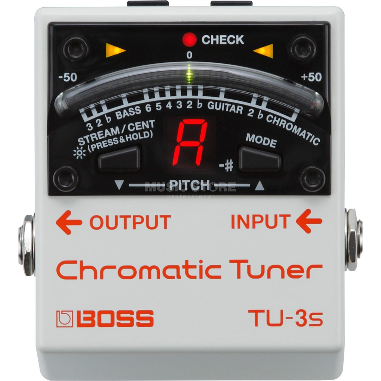 Boss TU-3S Chromatic Tuner Product Image