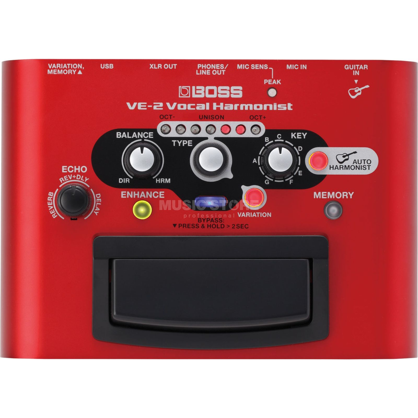 Boss VE-2 Vocal Harmonist Produktbild