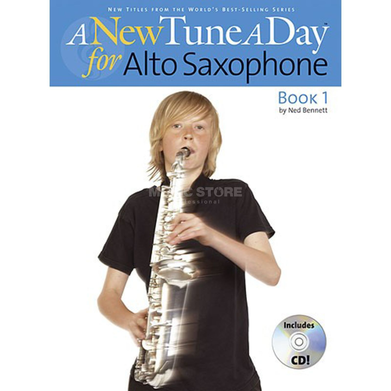 Boston Music A New Tune A Day:Alto Saxophon Book 1 (CD Edition) Produktbild