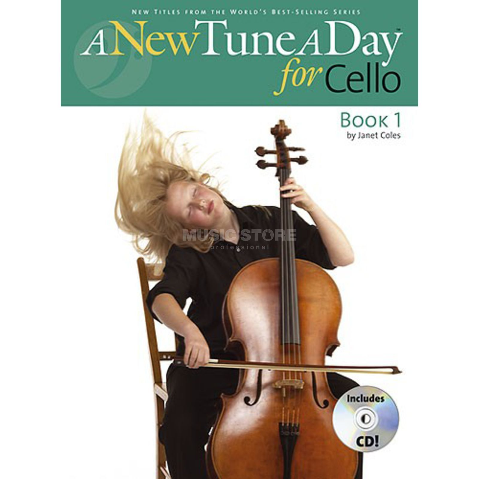 Boston Music A New Tune A Day: Cello Book 1 (CD Edition) Produktbillede