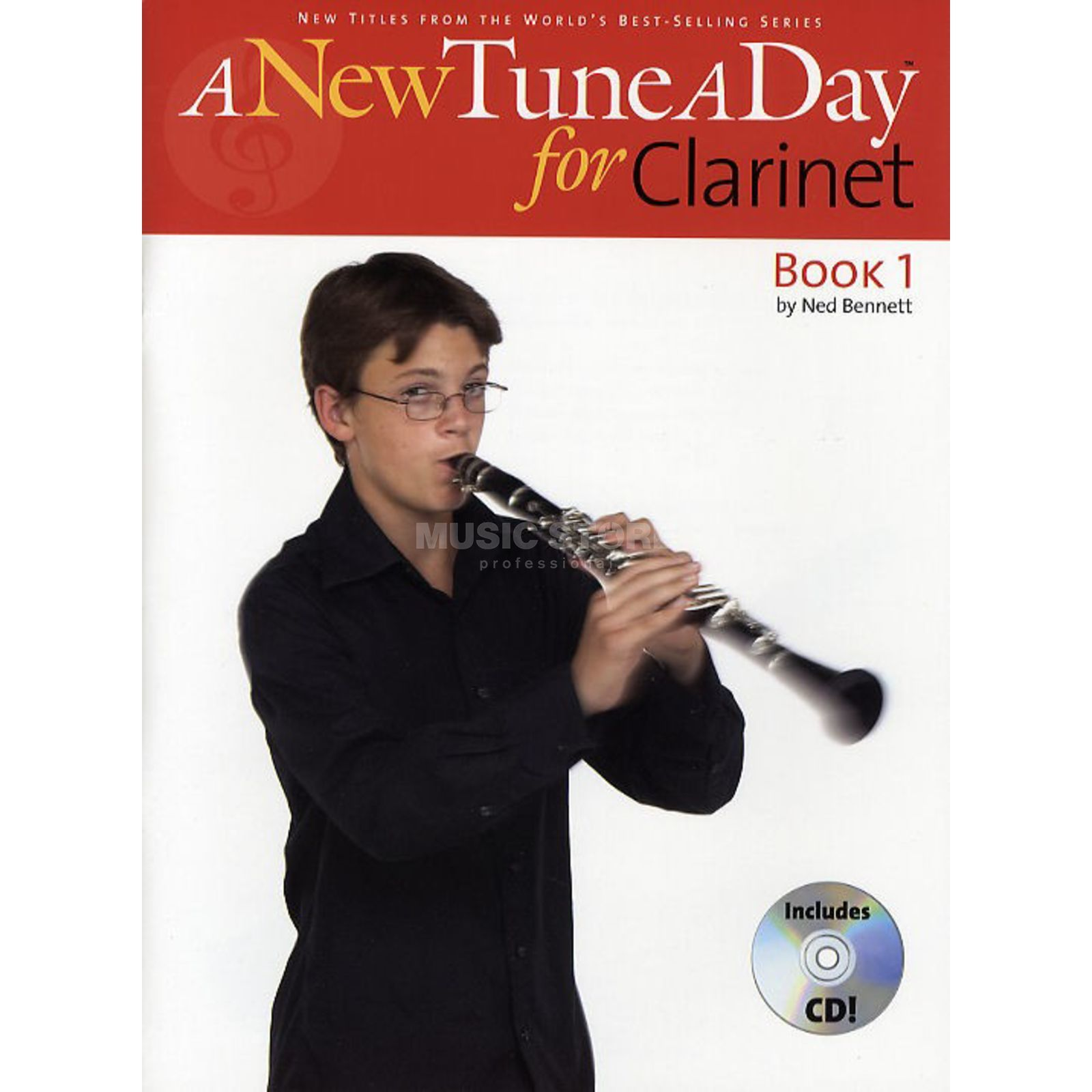 Boston Music A New Tune A Day: Clarinet Book 1 (CD Edition) Produktbild