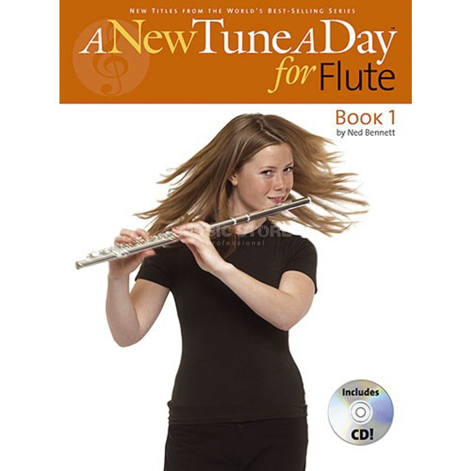 Boston Music A New Tune A Day: Flute Book 1 (CD Edition) Produktbild