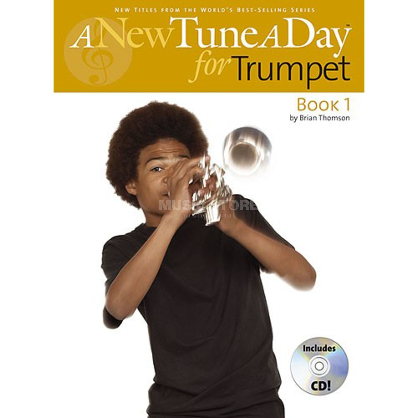 Boston Music A New Tune A Day: Trumpet Book 1 (CD Edition) Produktbild