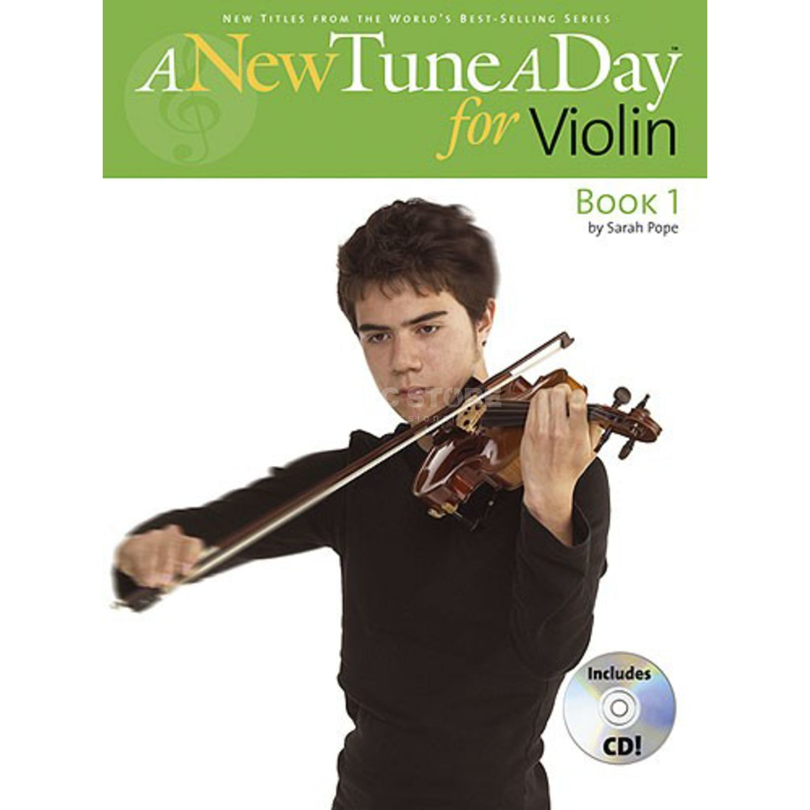 Boston Music A New Tune A Day:Violin Book 1 (CD Edition) Produktbillede