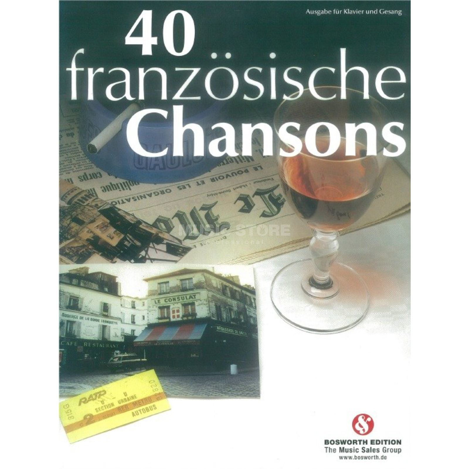 Bosworth Music 40 Französische Chansons Product Image