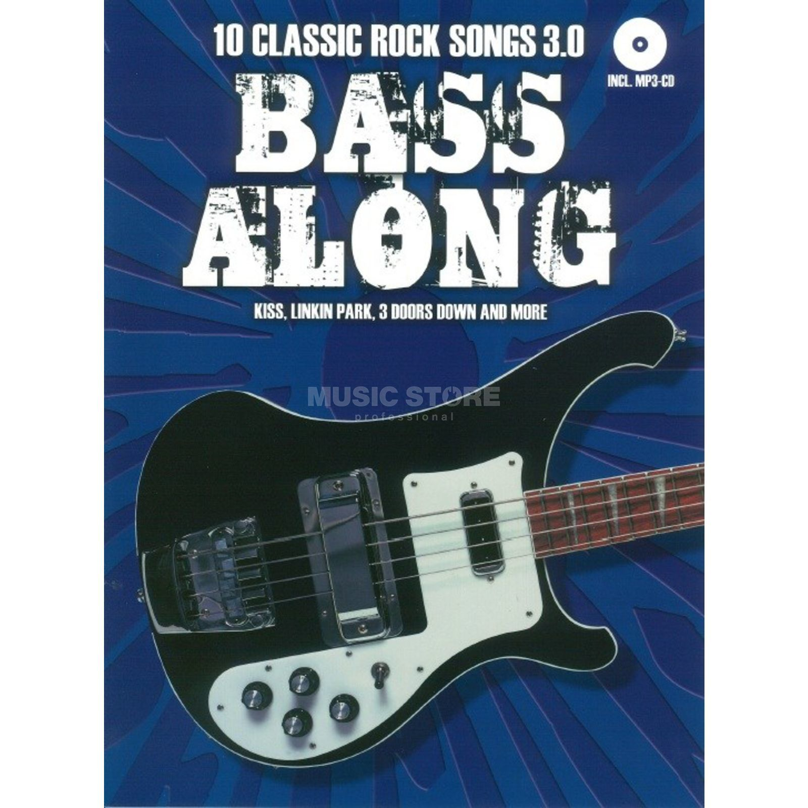 Bosworth Music Bass Along: 10 Classic Rock Songs 3.0 Product Image