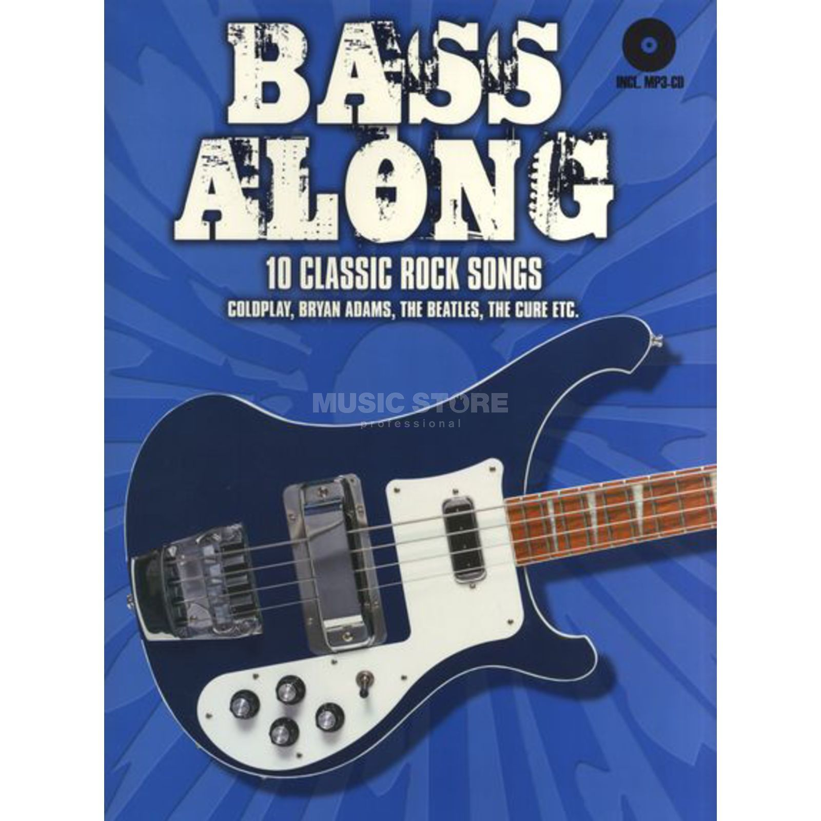 Bosworth Music Bass Along: 10 Classic Rock Songs Produktbillede