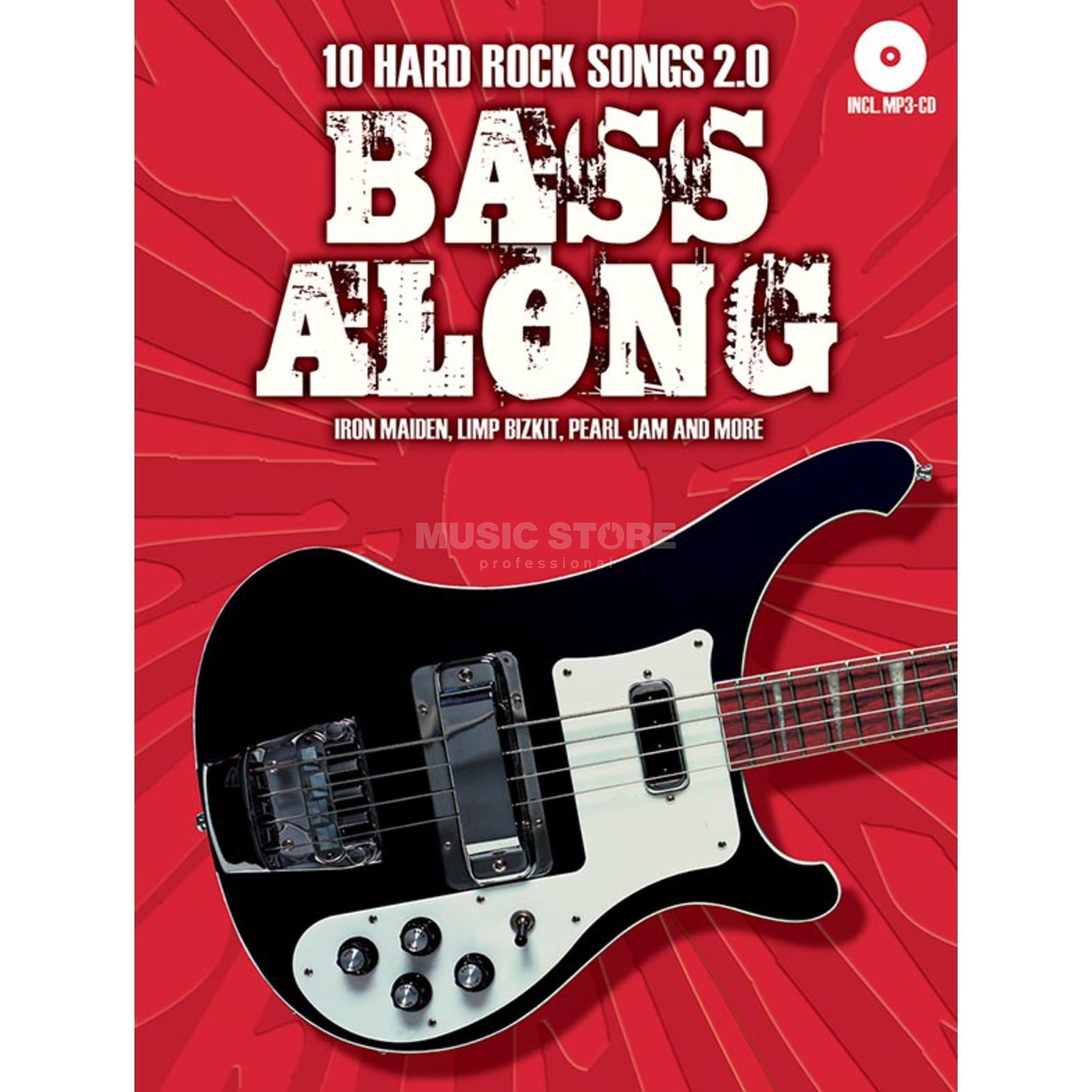 Bosworth Music Bass Along: 10 Hard Rock Songs 2.0 Produktbild
